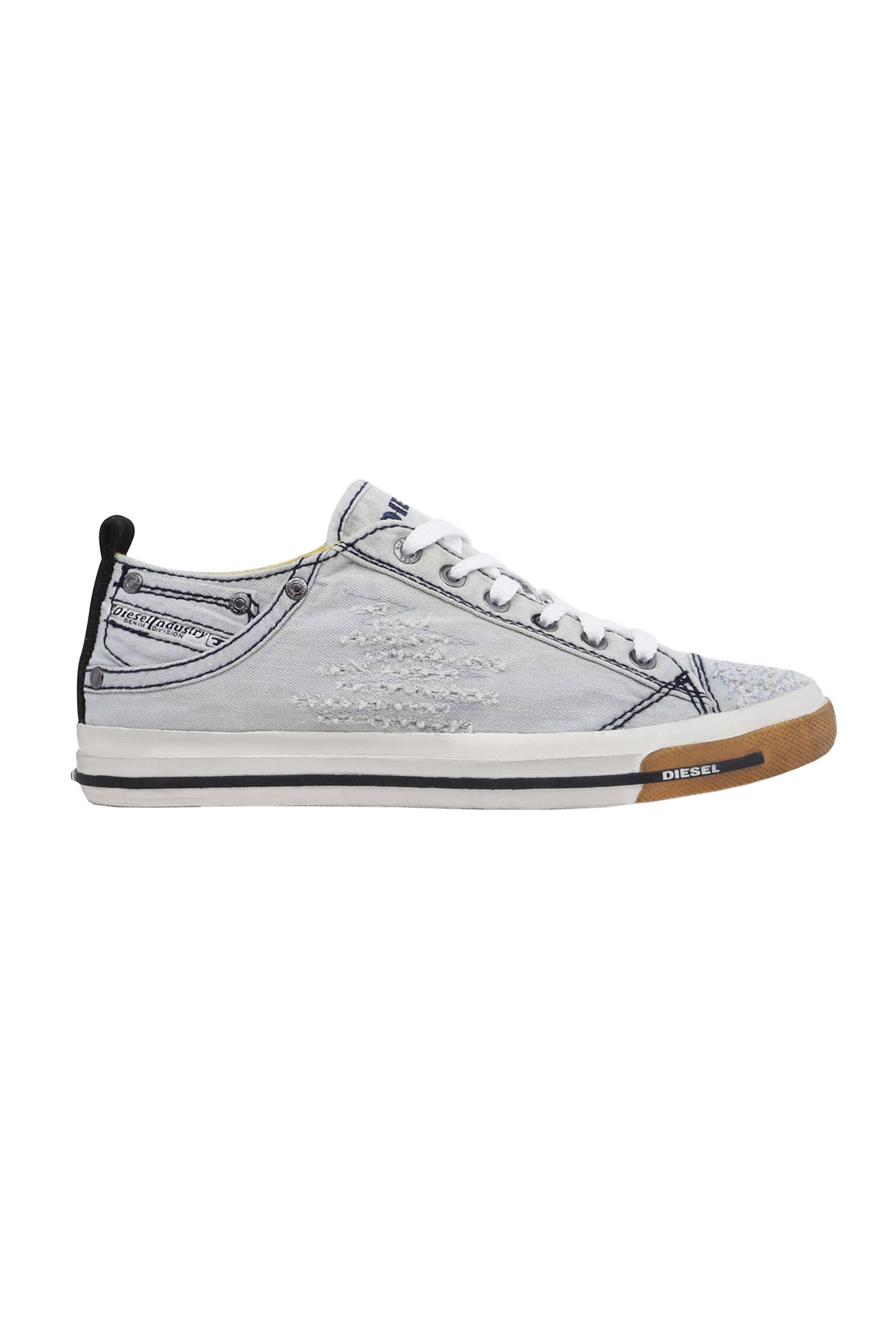 94eced061af Notos Diesel γυναικεία sneakers denim Exposure iv low – Y00637 P2055 –  Γαλάζιο
