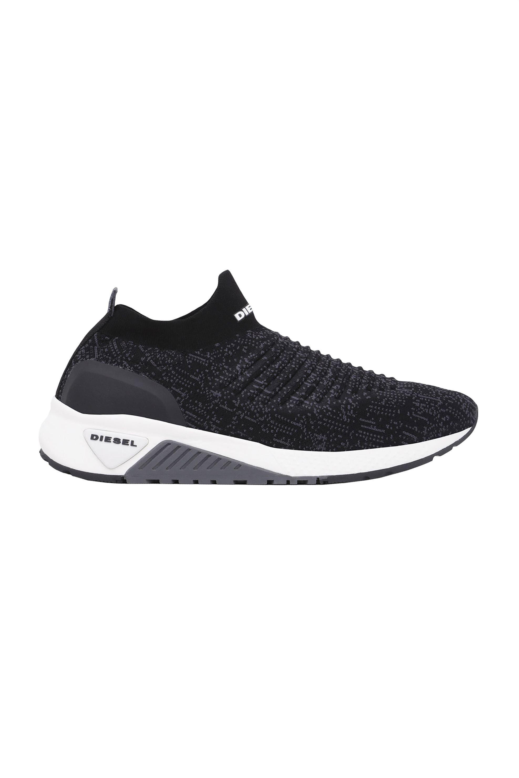 591439b1f3d Notos Diesel ανδρικά sneakers με κάλτσα Αthl Sock – Y01881 P0338 – Μαύρο