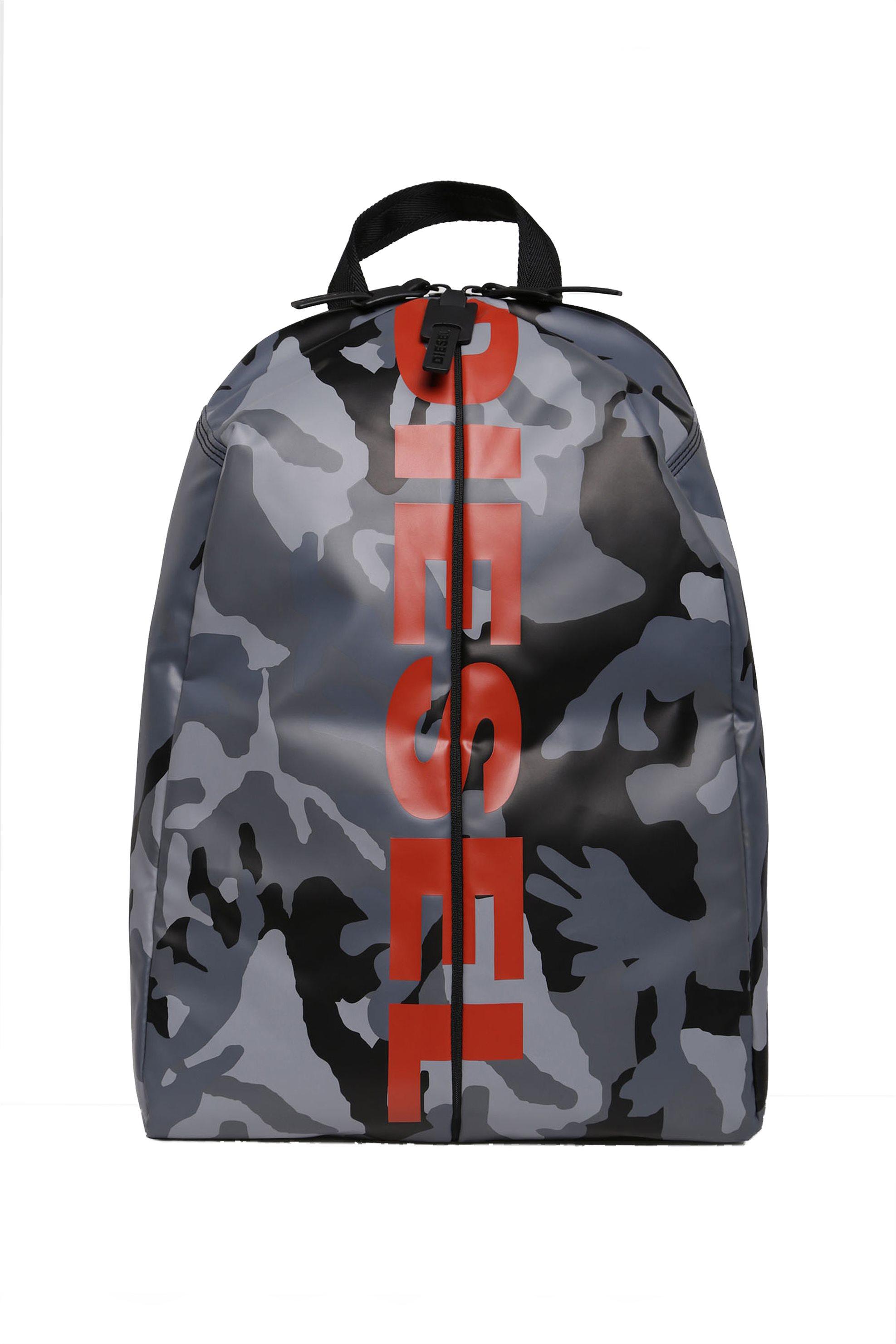 Notos Diesel ανδρικό Backpack F-Bold - X05479 P1705 - Γκρι 3d8d4c45fc5