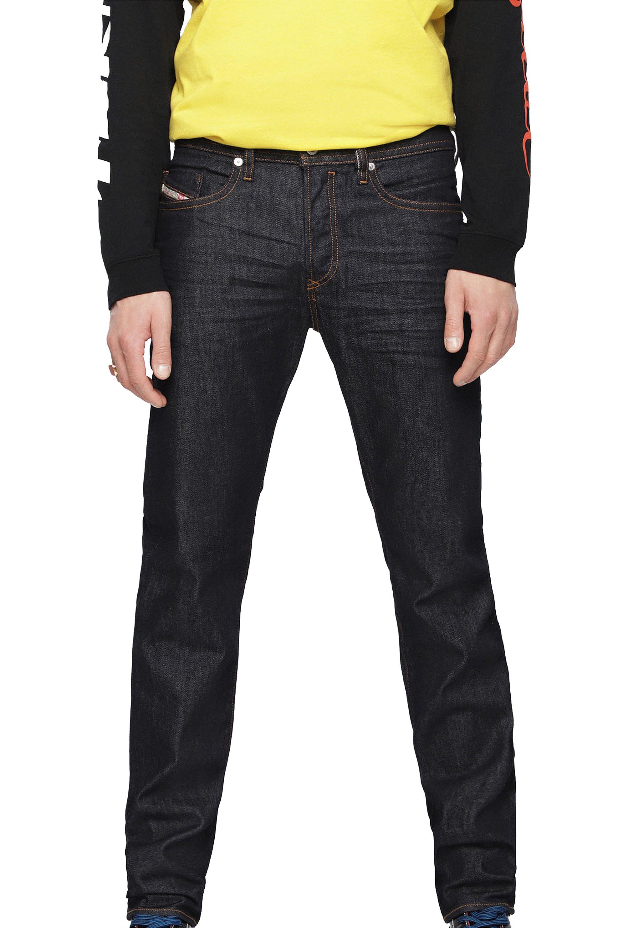 Diesel ανδρικό τζην παντελόνι Buster 084HN (32L) - 00SDHB 084HN - Μπλε Σκούρο ανδρασ   ρουχα   jeans   tapered