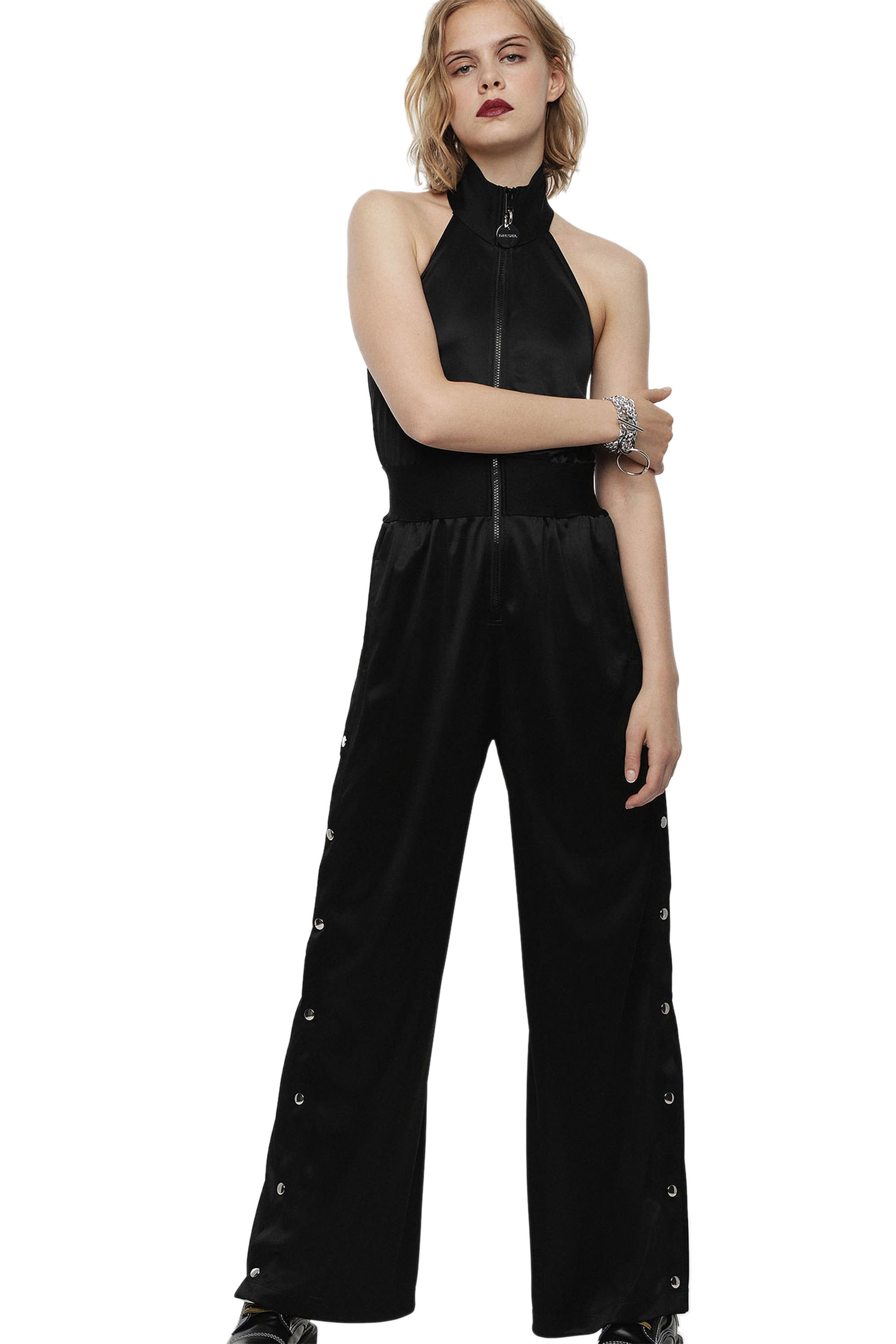 Diesel γυναικεία ολόσωμη φόρμα J-Sasja - 00SH2V 0CARX - Μαύρο γυναικα   ρουχα   ολόσωμες φόρμες   σαλοπέτες
