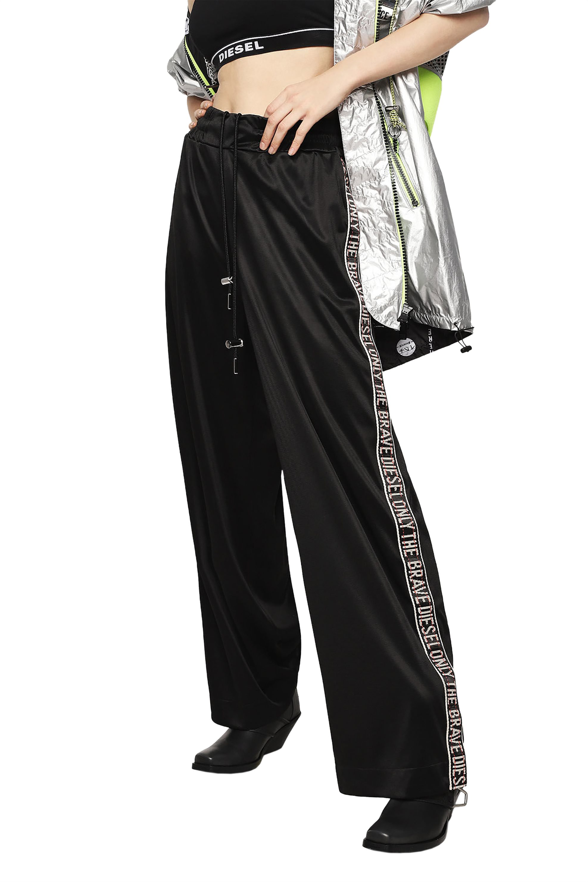 1d2212a0f256 Notos Diesel γυναικείο παντελόνι Rolen - 00SSSC 0CARX - Μαύρο