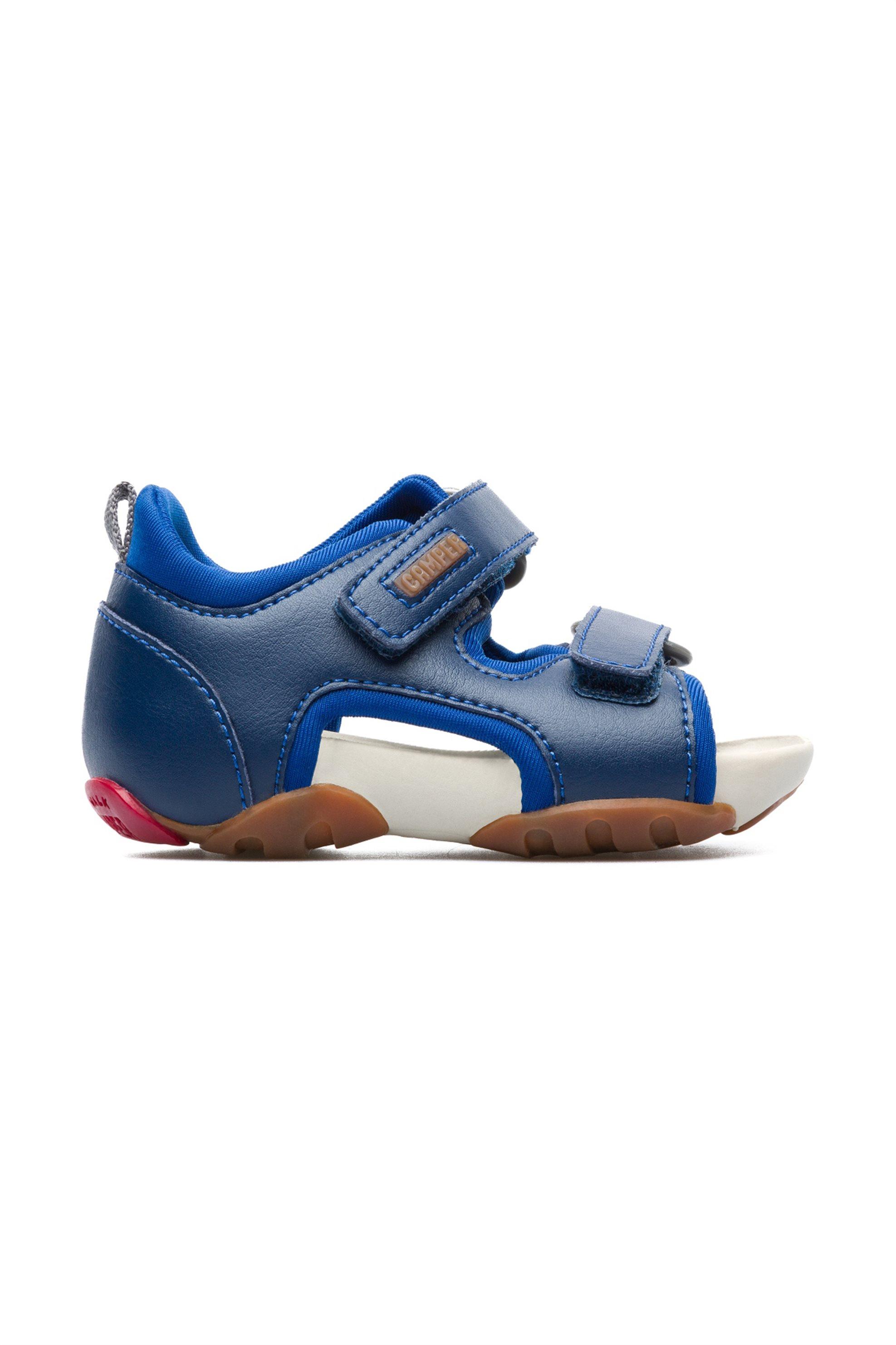 ce5702bed9b Notos Camper βρεφικά σανδάλια Ous – 80530-033 – Μπλε