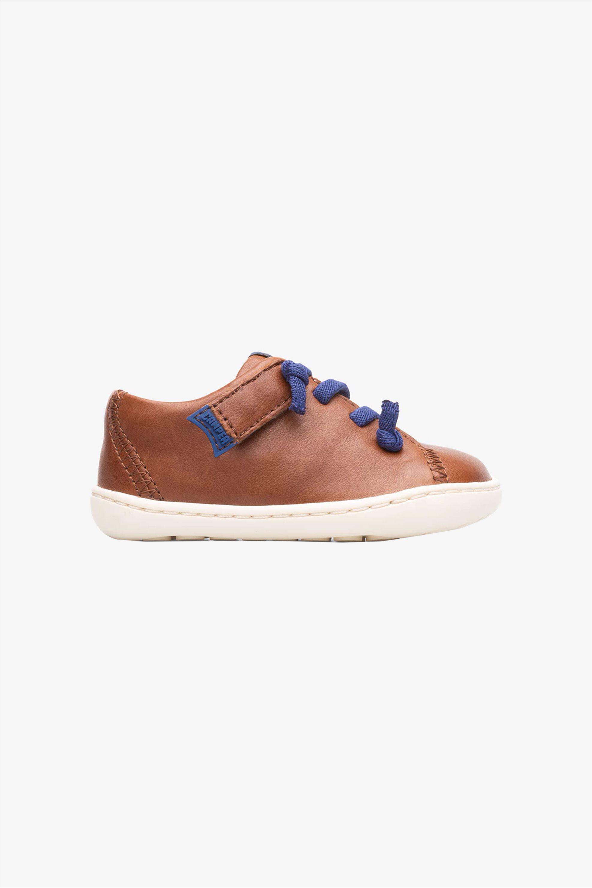 "Camper βρεφικά δερμάτινα sneakers με κορδόνια ζιγκ ζαγκ ""Peu..."