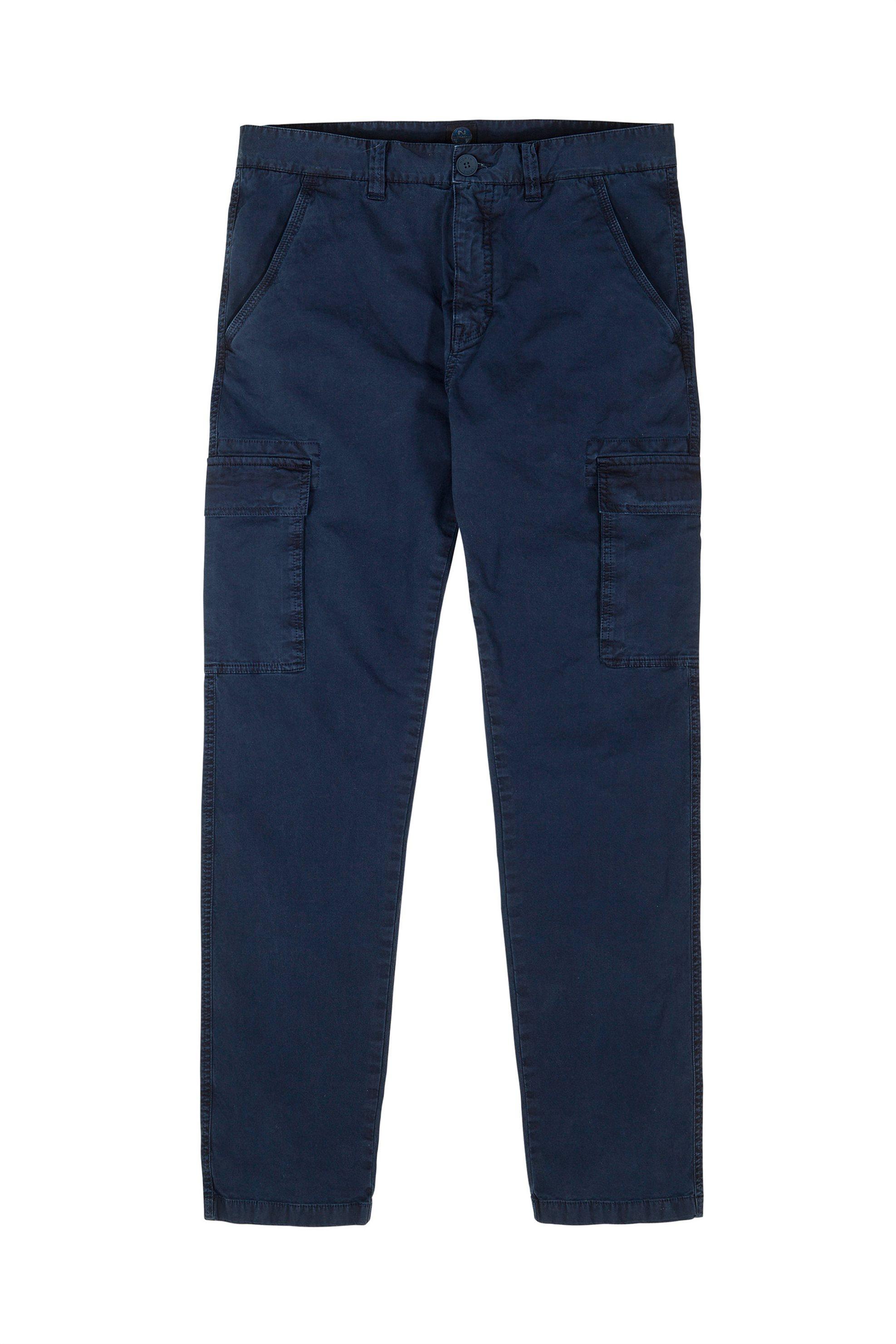 Ανδρικό παντελόνι cargo Lowell North Sails - 2667M-** - Μπλε Σκούρο ανδρασ   ρουχα   παντελόνια   cargo