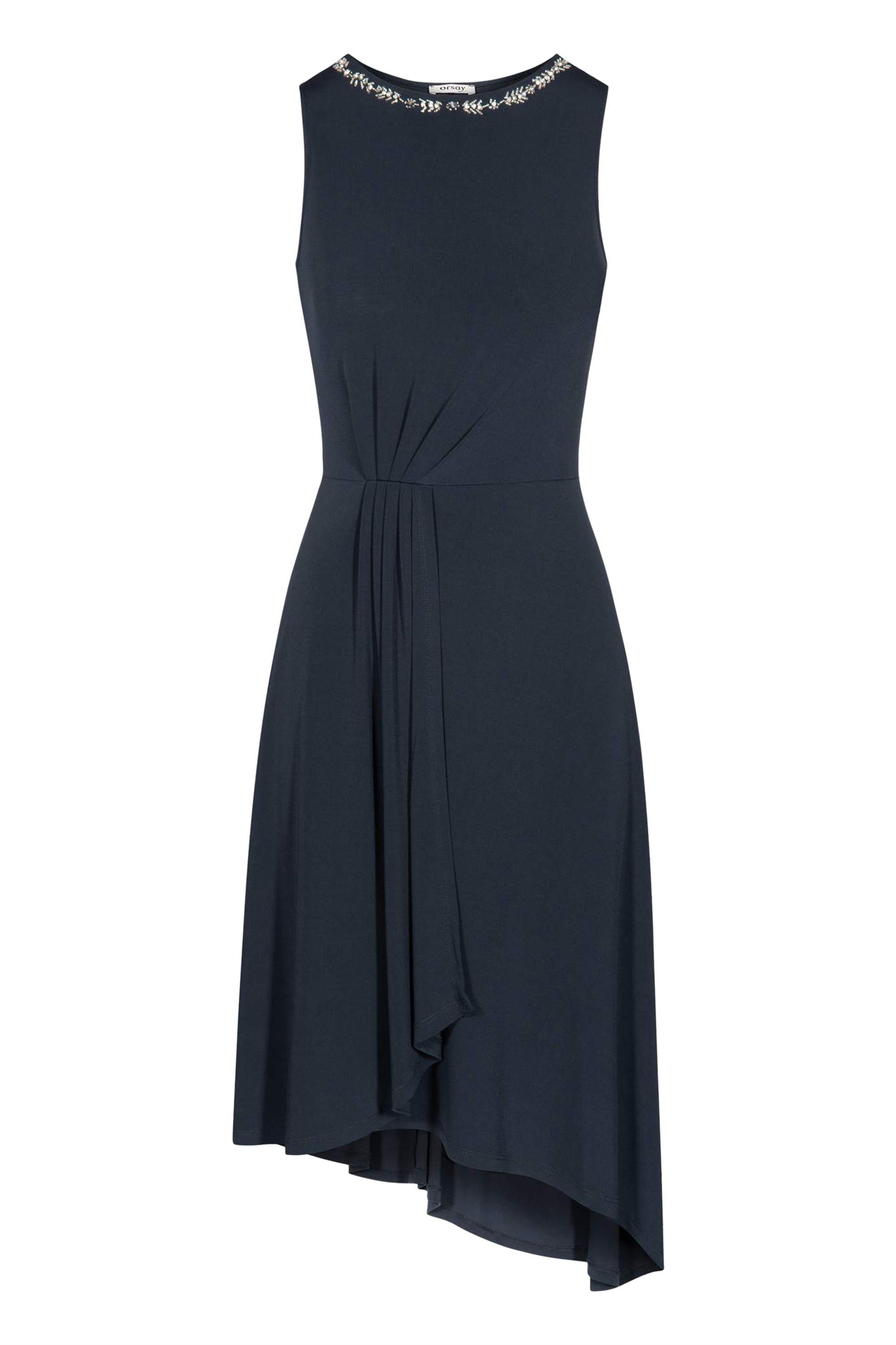 Orsay γυναικείο αμάνικο φόρεμα με πέτρες - 474017-526000 - Μπλε Σκούρο γυναικα   ρουχα   φορέματα   midi φορέματα