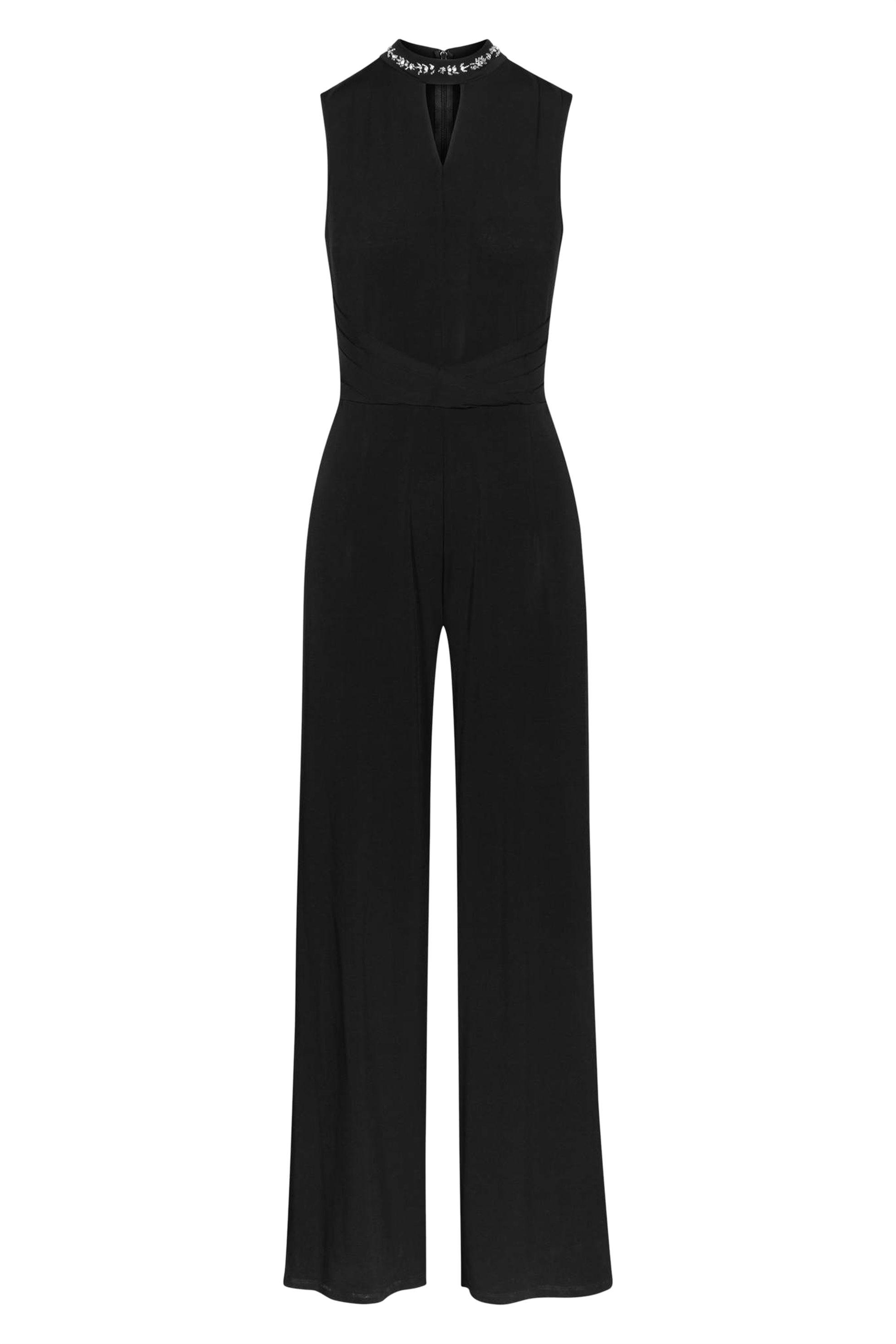 Orsay γυναικεία ολόσωμη φόρμα με κέντημα - 455005-660000 - Μαύρο γυναικα   ρουχα   ολόσωμες φόρμες   σαλοπέτες