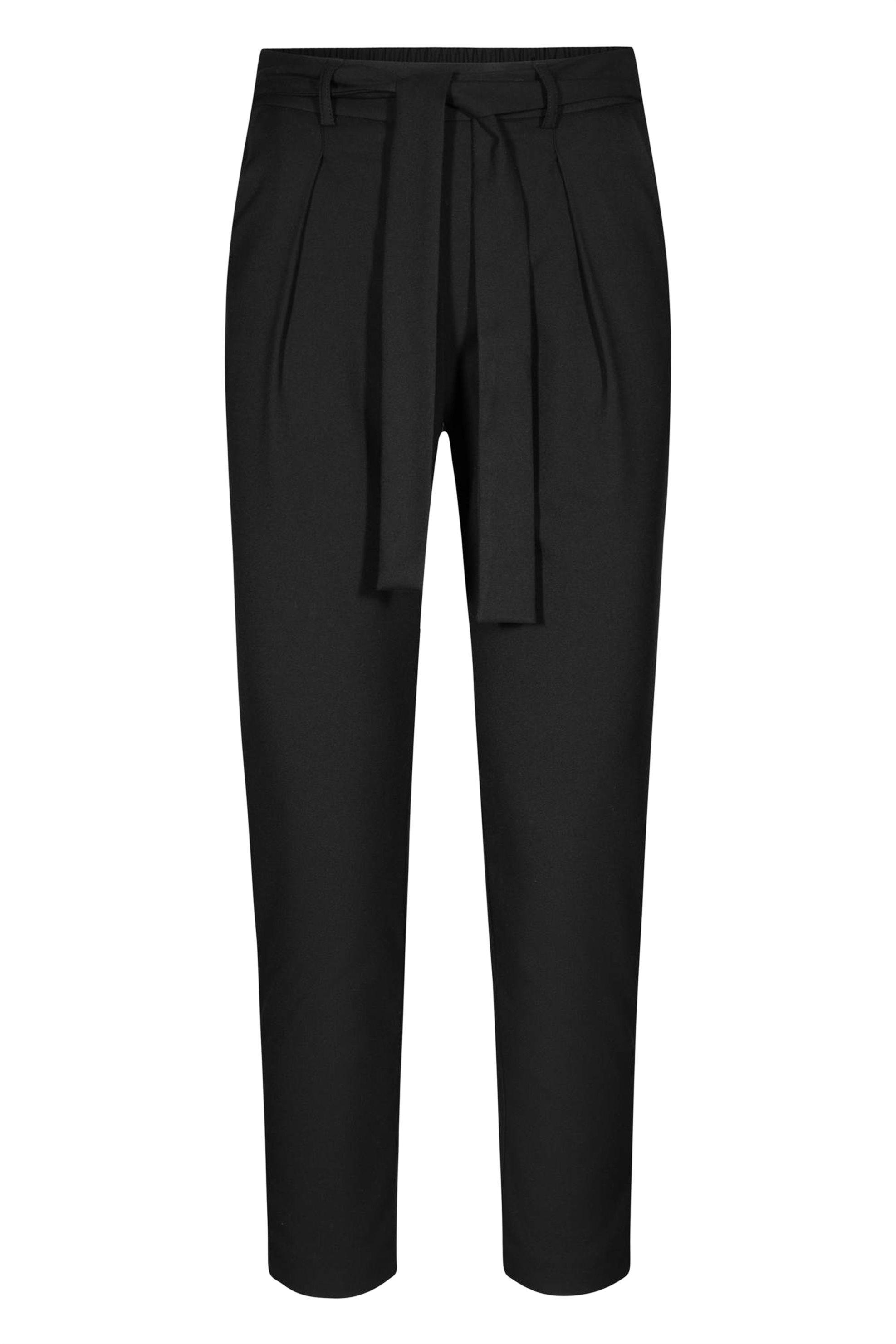 Orsay γυναικείο παντελόνι ψηλόμεσο με ζώνη - 352217-660000 - Μαύρο γυναικα   ρουχα   παντελόνια   cropped