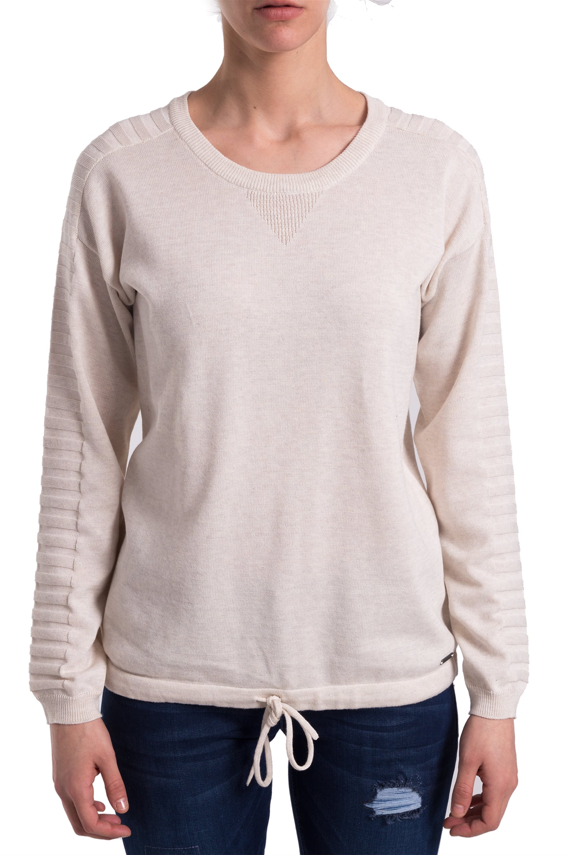 0a3a338f5a7e Γυναικεία   Ρούχα   Πλεκτά   Μπλούζες   Λεπτό πουλόβερ με άνοιγμα ...