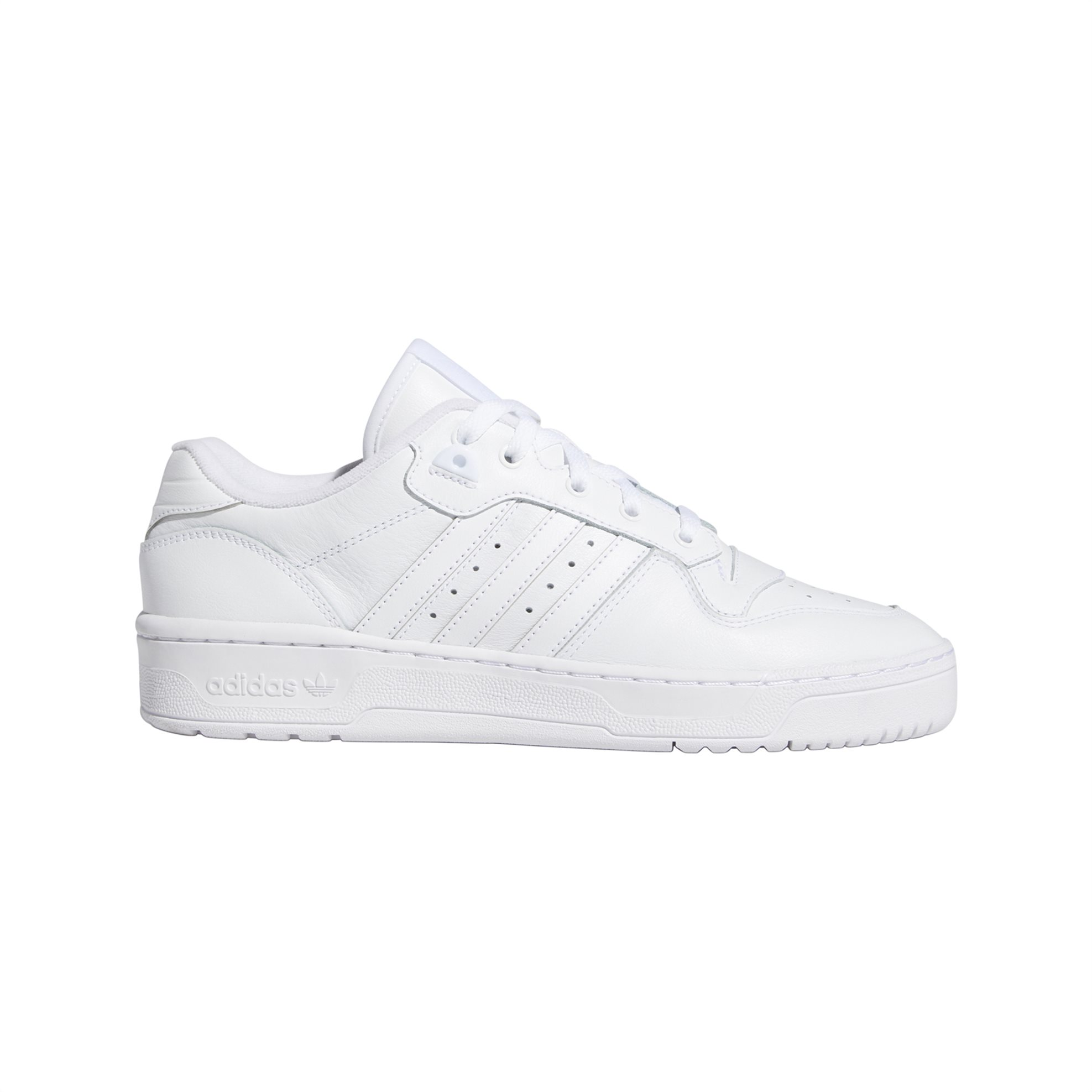 Adidas ανδρικά sneakers μονόχρωμα ''Rivalry Low'' - EF8729 - Λευκό