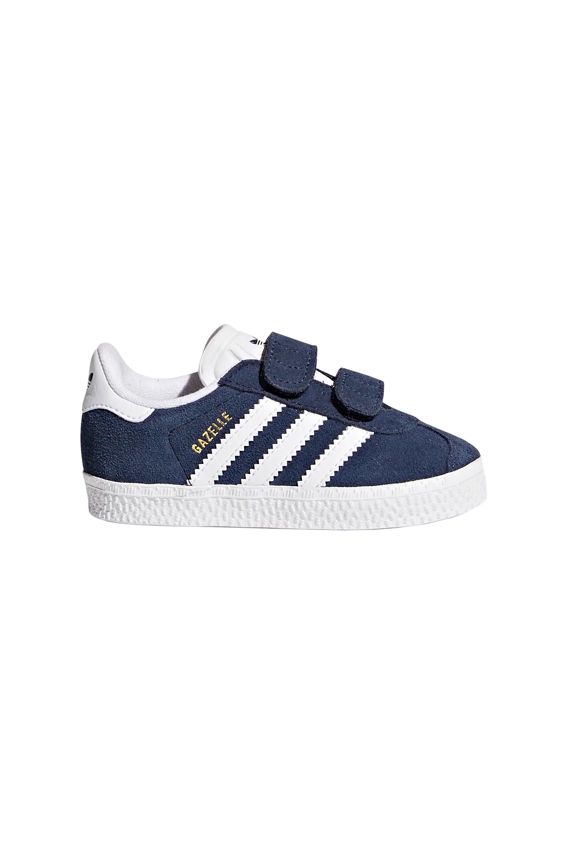 1079b4bbaba Notos Adidas βρεφικά αθλητικά παπούτσια Gazelle – CQ3138 – Μπλε Σκούρο