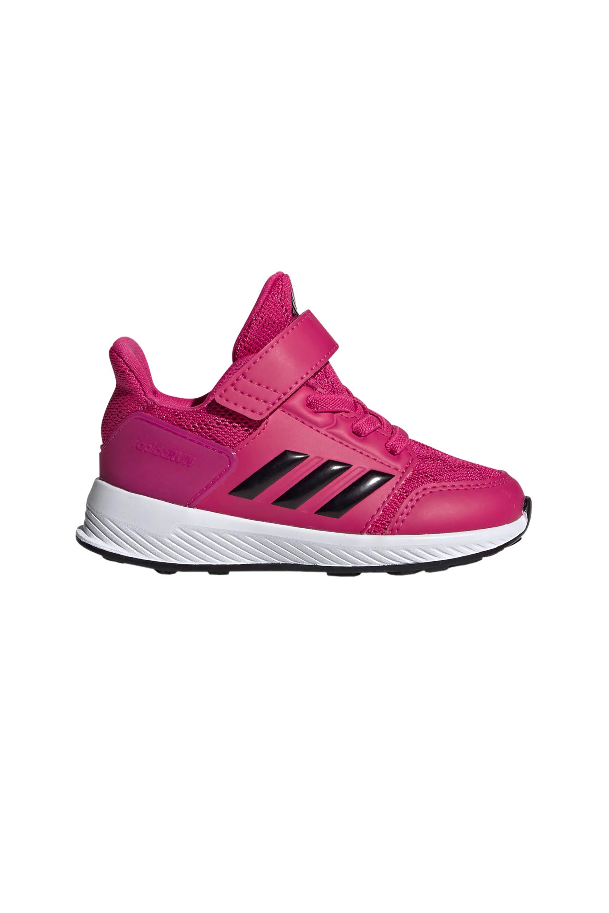 0241a049e0b Notos Adidas βρεφικά αθλητικά παπούτσια RapidaRun X – D97082 – Φούξια