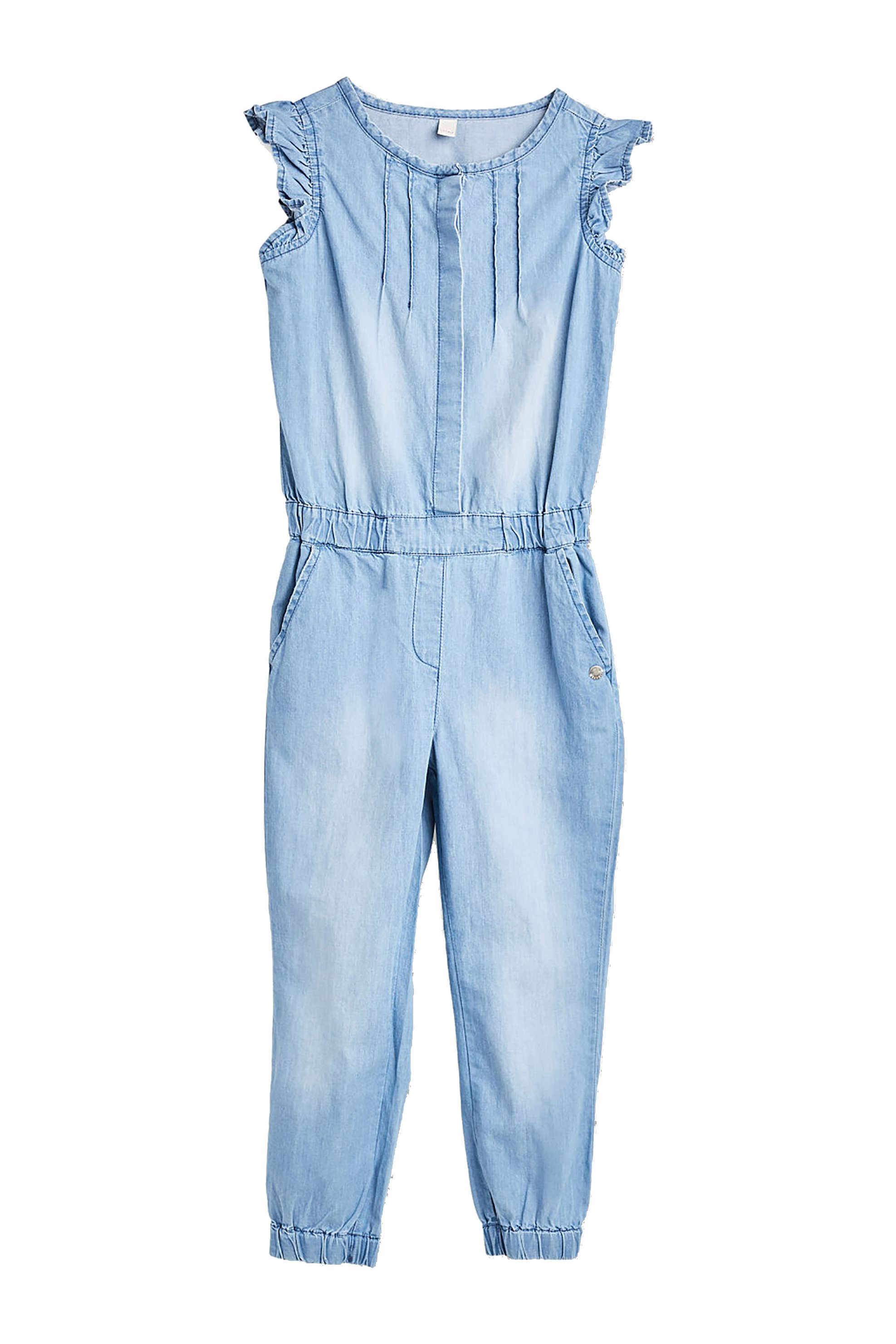 Παιδική denim ολόσωμη φόρμα (2-9 ετών) Esprit - RL3201302 - Μπλε παιδι   βρεφικα κοριτσι   0 3 ετων   κοριτσι   4 14 ετων   ρούχα   tops   παντελ
