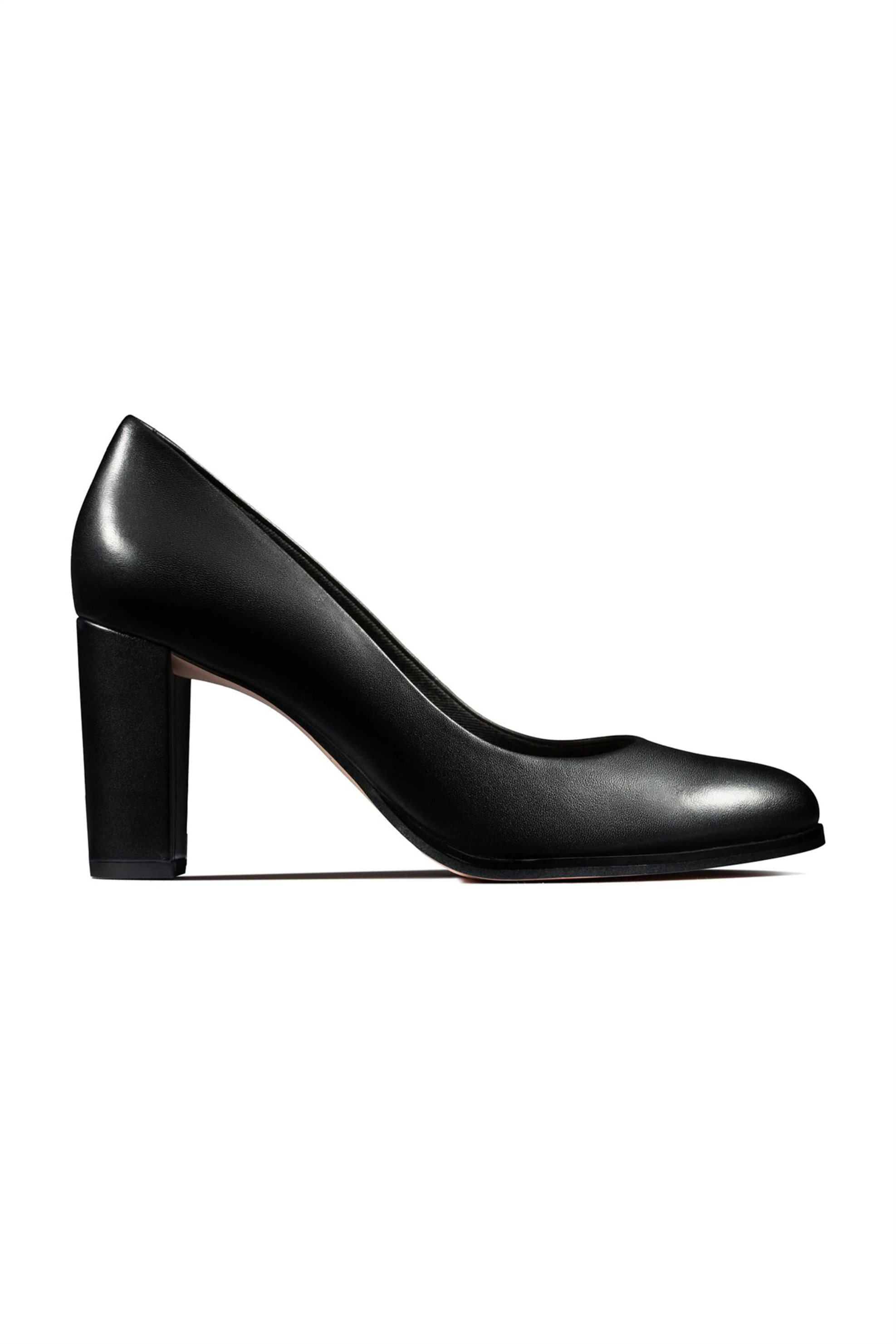 Clarks γυναικείες δερμάτινες γόβες «Kaylin Cara» – 26145688 – Μαύρο
