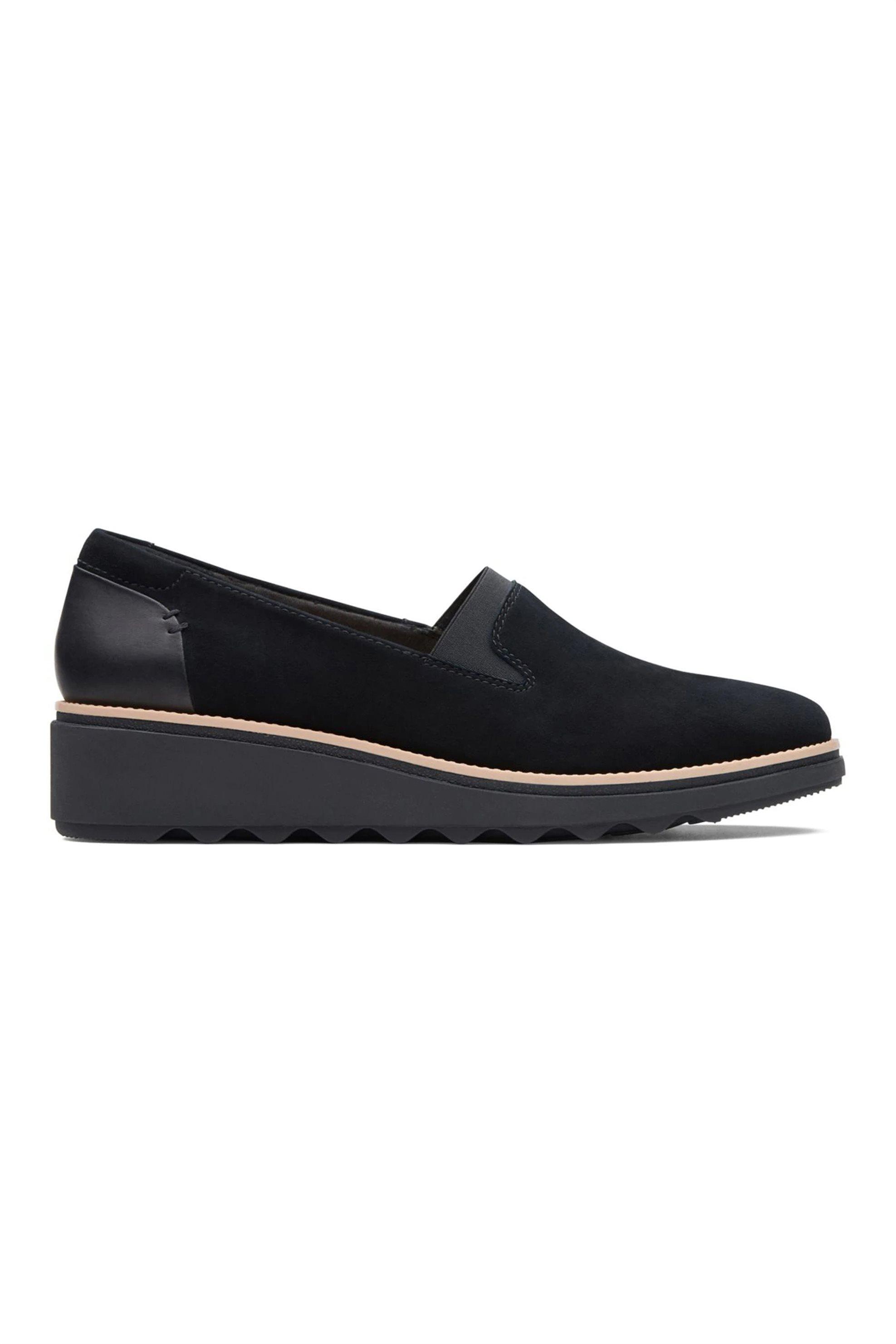 Clarks γυναικεία παπούτσια slip on «Sharon Dolly» – 26136359 – Μαύρο