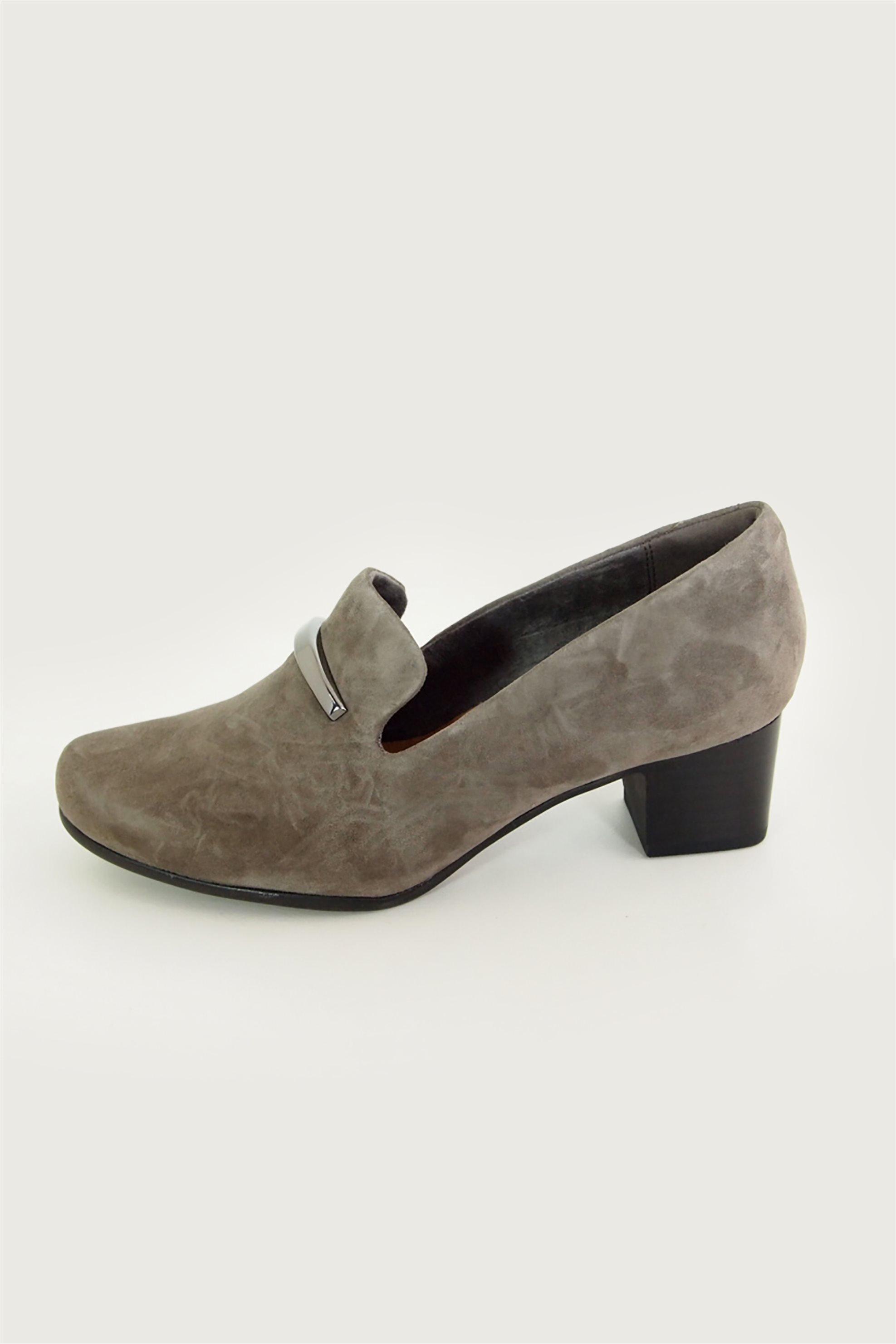 Clarks γυναικεία παπούτσια slip-on με τακούνι «Un Damson Lane» – 26144601 – Μπεζ