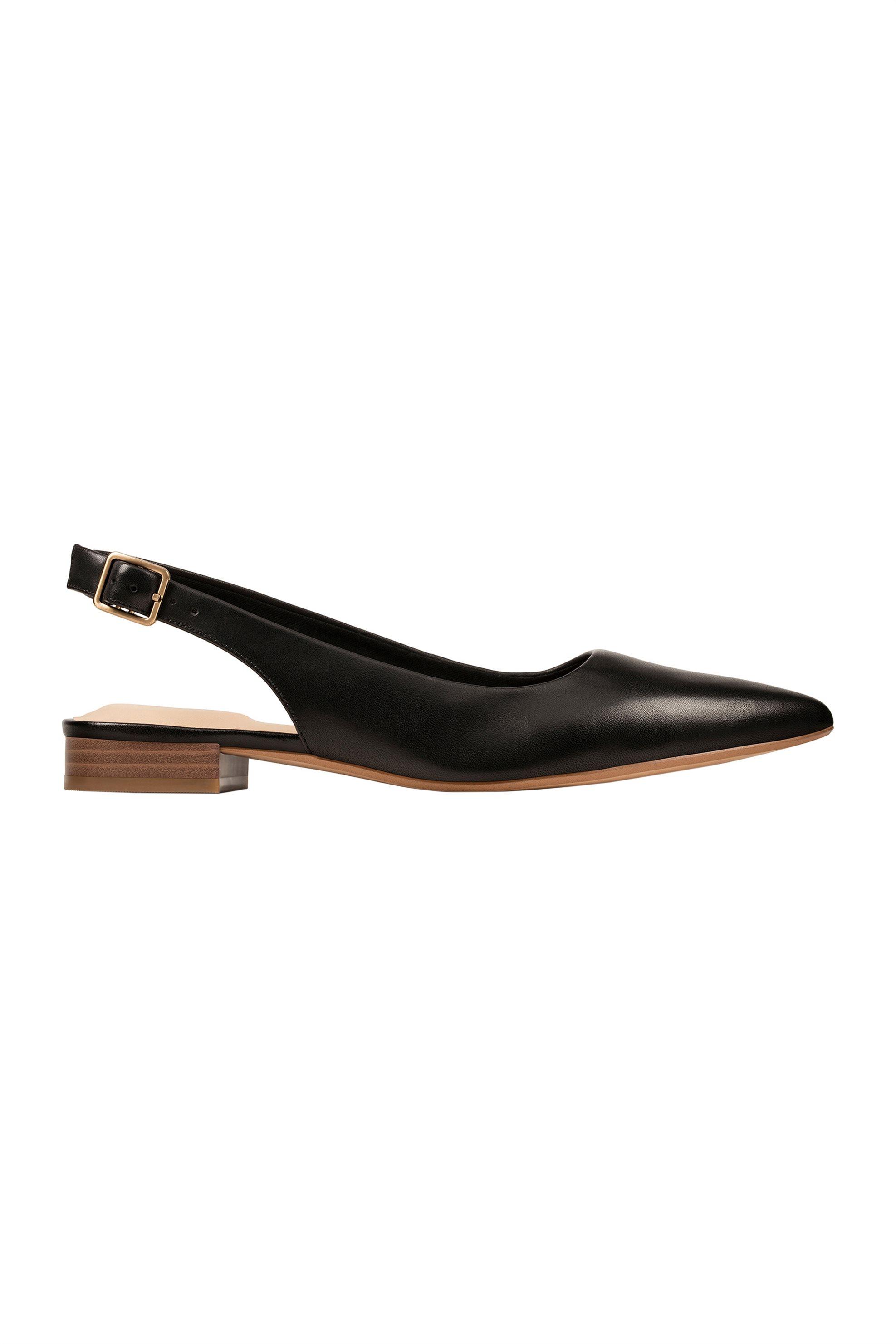 "Clarks γυναικεία παπούτσια slingback ""Laina 15"" – 26148860 – Μαύρο"