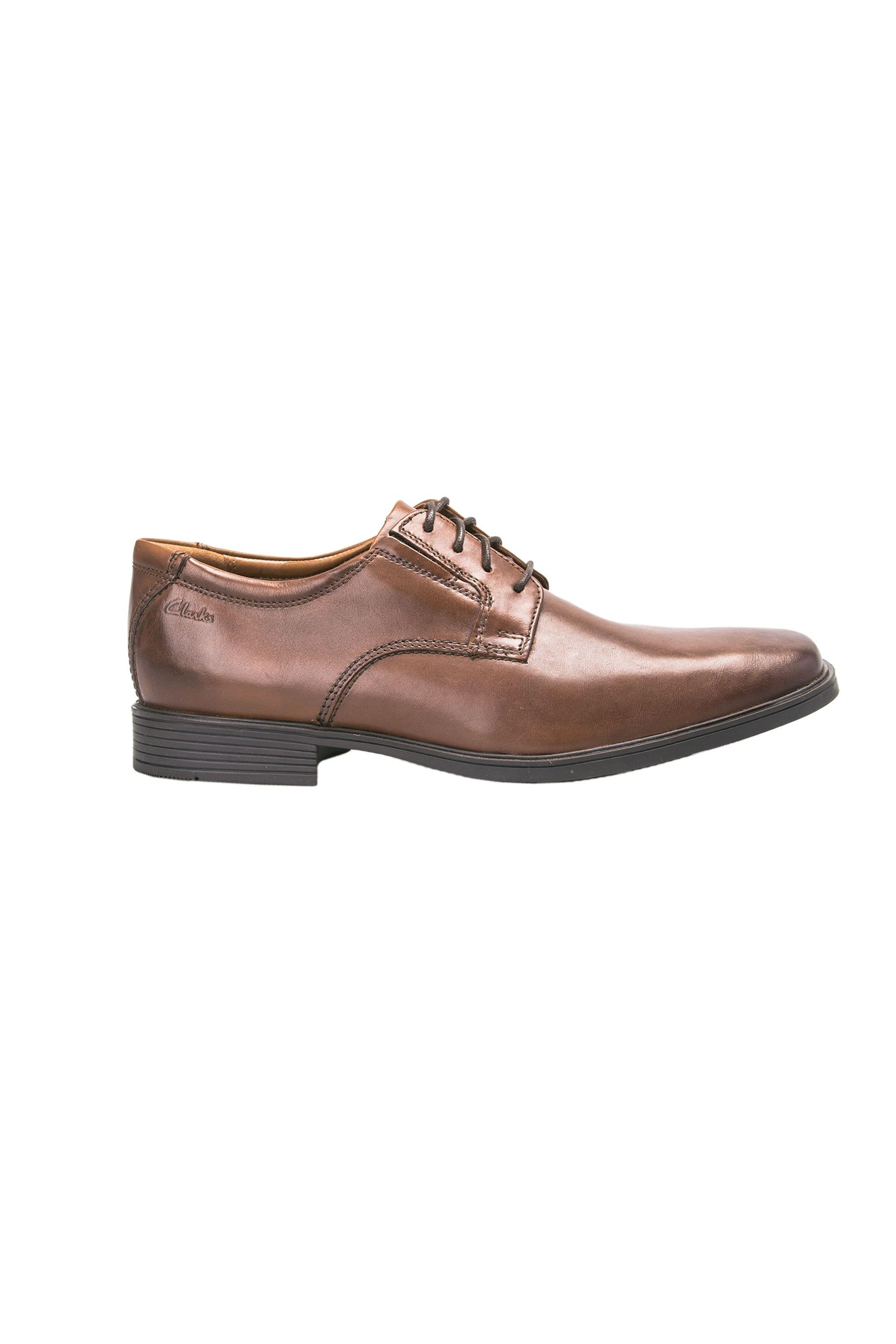 Notos Ανδρικά παπούτσια Tilden Plain Clarks – 261300977070 – Καφέ d76be3b0c0d