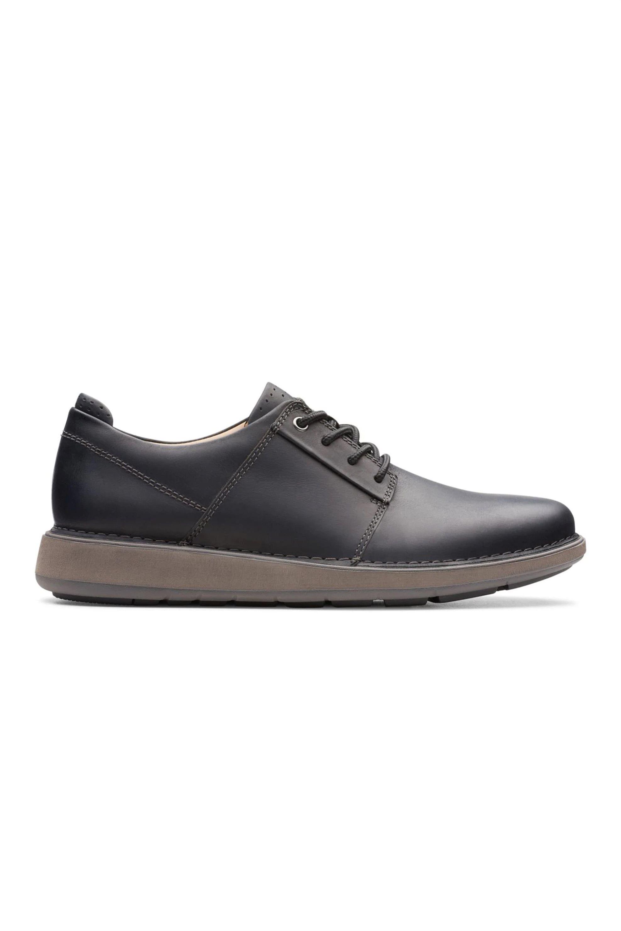 Clarks ανδρικά casual παπούτσια με κορδόνια «Un Larvik Lace» – 26144577 – Μαύρο