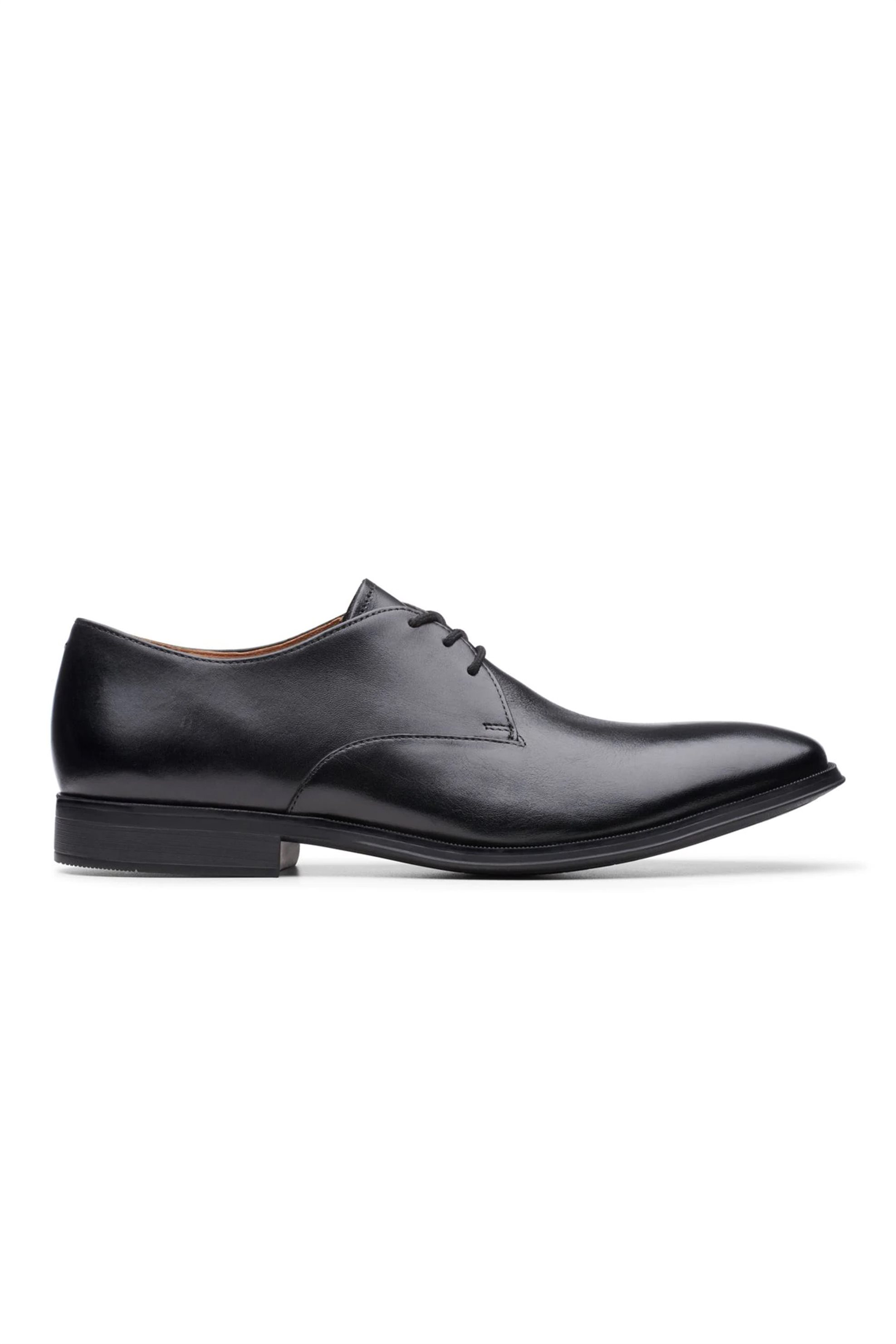 Clarks ανδρικά δερμάτινα παπούτσια oxford «Gilman Walk» – 26144056 – Μαύρο