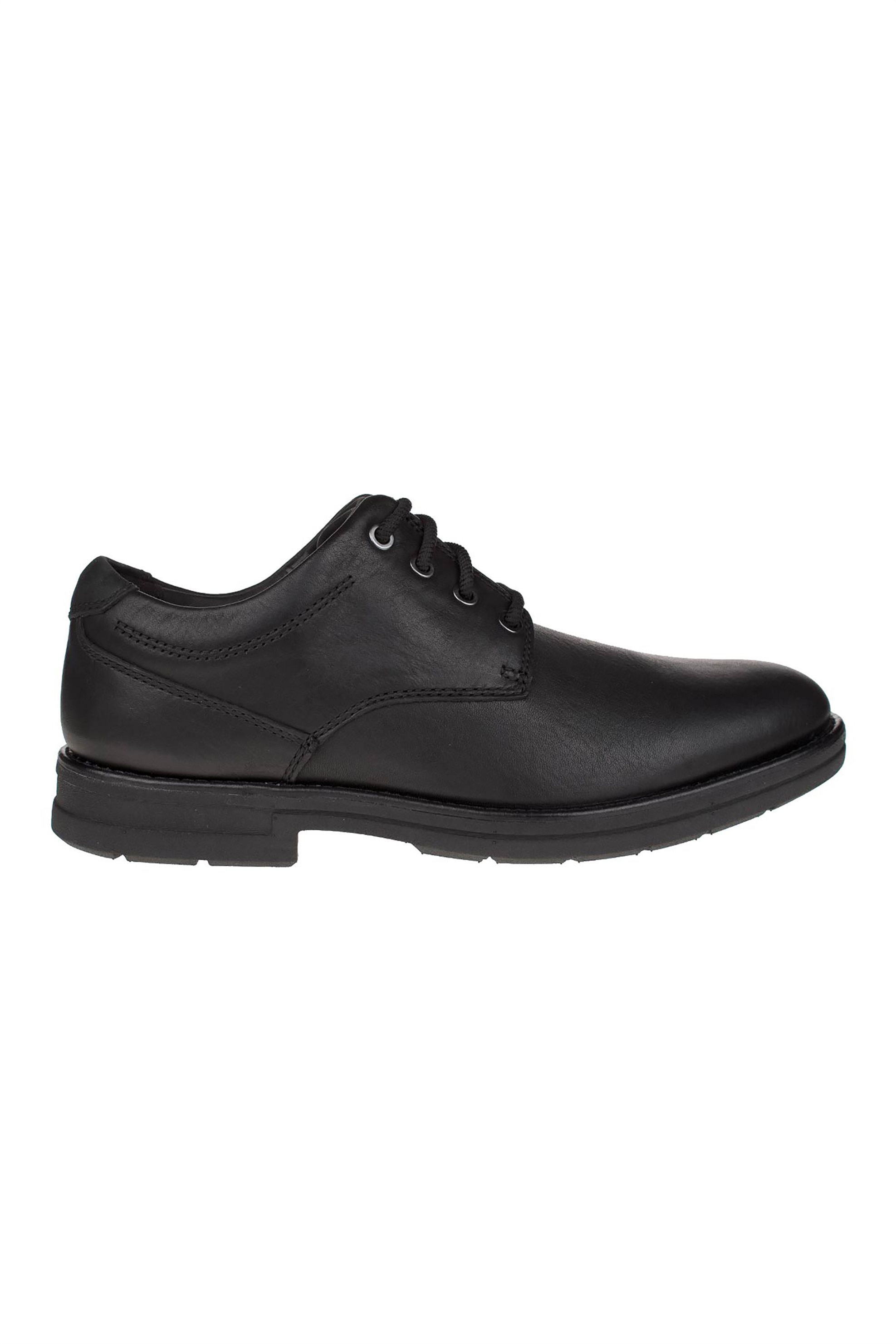 "Clarks ανδρικά παπούτσια oxford ""Banning plain"" – 26151753 – Μαύρο"