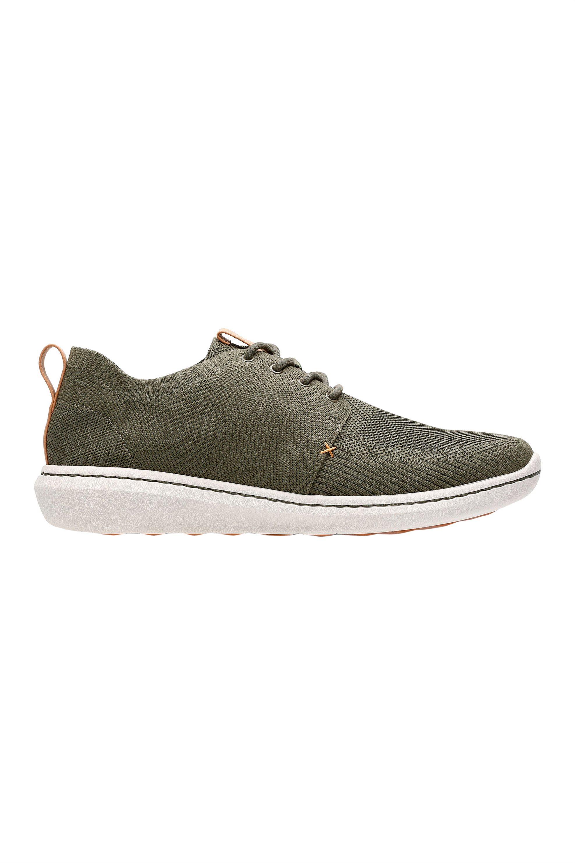 "Clarks ανδρικά sneakers με κορδόνια ""Step Urban Mix"" – 26138174 – Χακί"