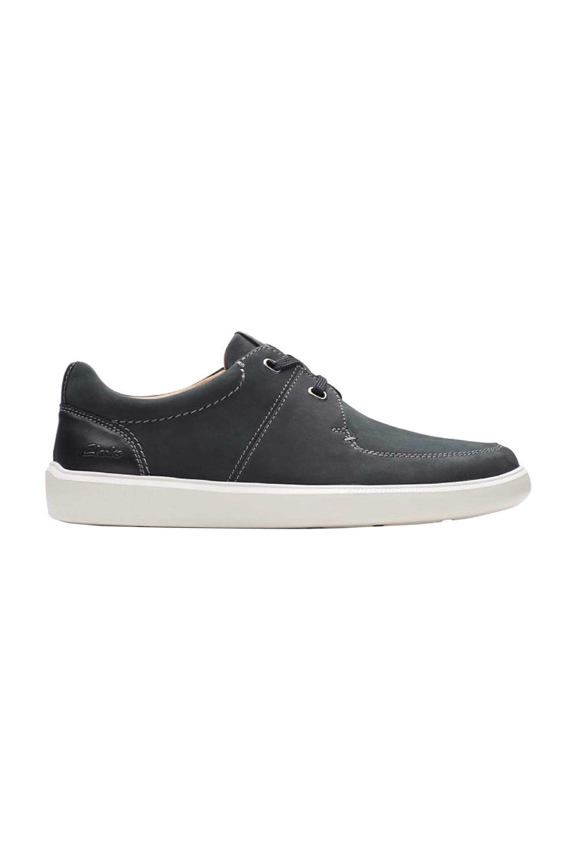"""Clarks ανδρικά δερμάτινα sneakers με κορδόνια """"Cambro Lace"""" – 26158247 – Μαύρο"""