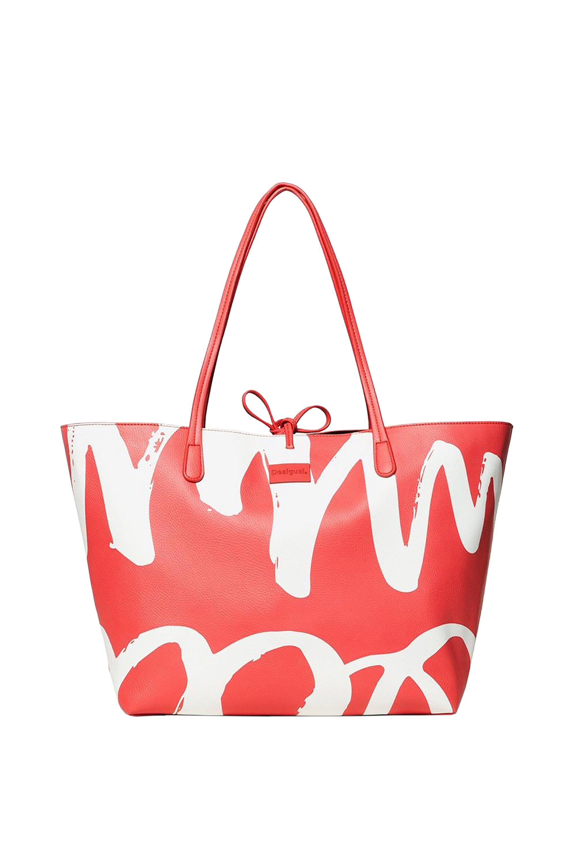 Desigual γυναικεία τσάντα shopper διπλής όψης με αφαιρούμενο τσαντάκι Capri - 19 γυναικα   τσαντεσ   ώμου   shopper bags
