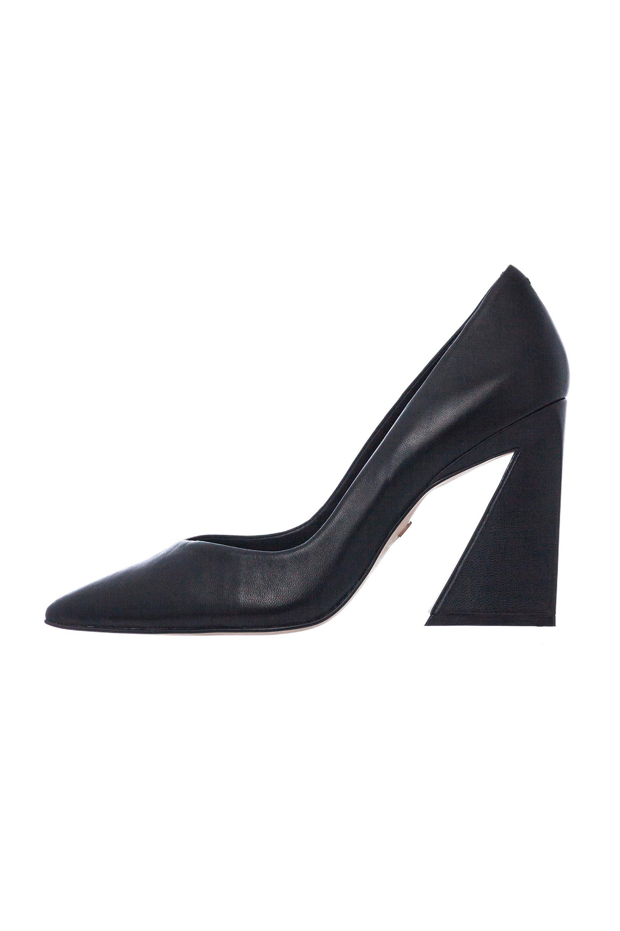 Carrano γυναικείες γόβες με τριγωνικό τακούνι – 264001 CAB01 – ME – Μαύρο