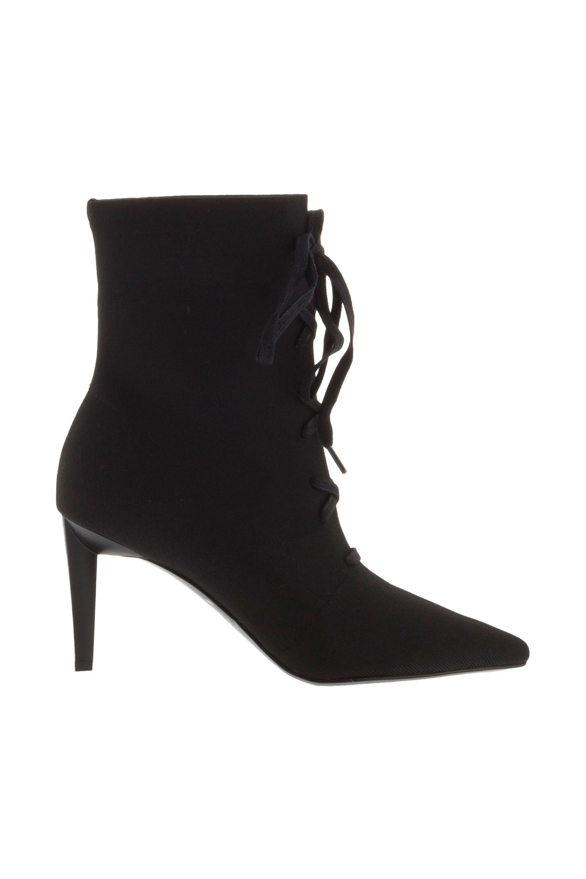 Kendall + Kylie γυναικείo μποτάκι με κορδόνια Vice - kkVICE/01 - Μαύρο γυναικα   παπουτσια   μποτάκια
