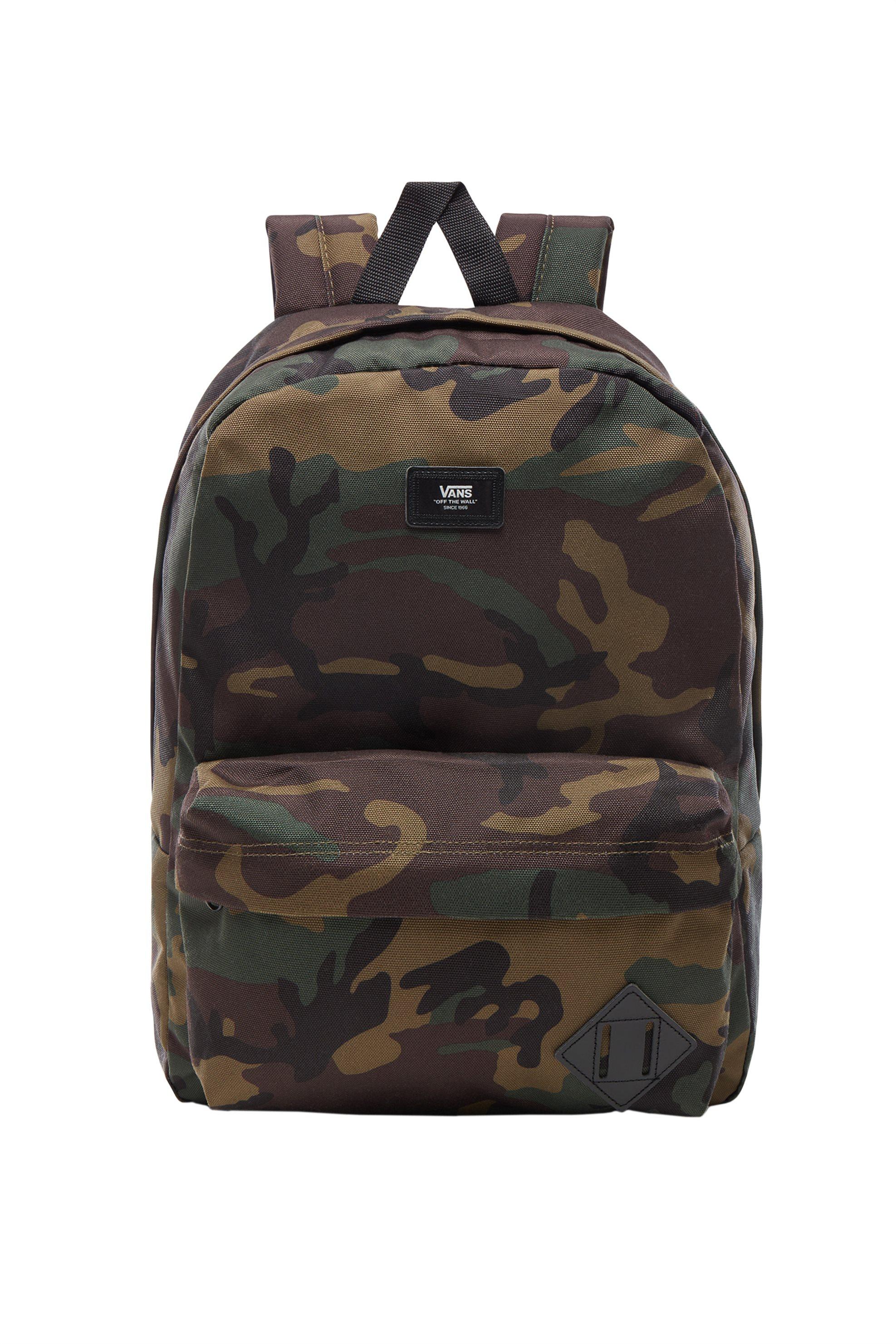 ca28d62b105 Vans ανδρικό backpack Old Skool σε σχέδιο παραλλαγής - VN000ONIJ2R1 - Χακί