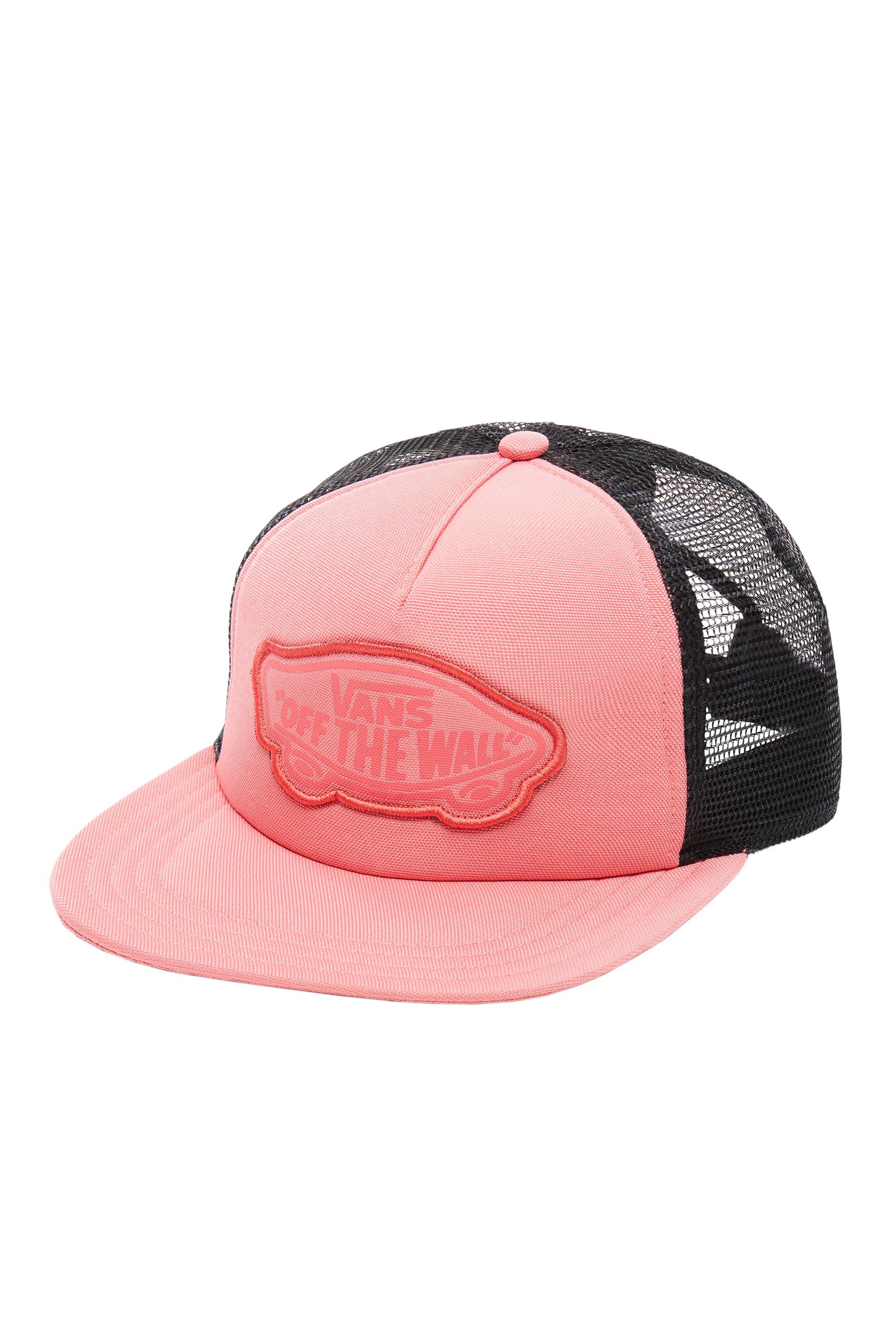 Vans γυναικείο καπέλο Beach Girl Trucker - VN000H5LYDZ1 - Κοραλί γυναικα   αξεσουαρ   καπέλα  σκούφοι   αξεσουάρ