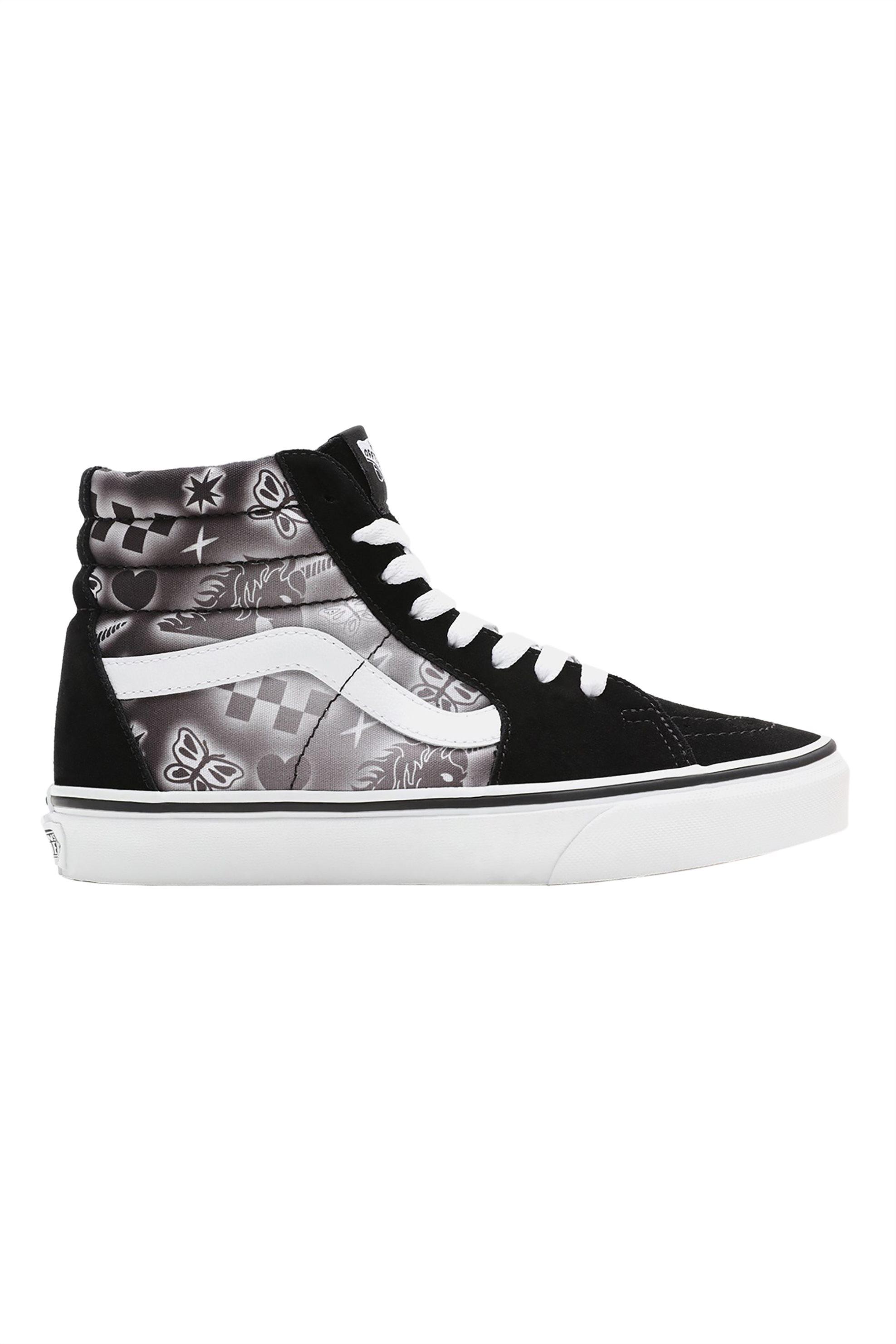 Vans γυναικεία sneakers με print ''Sk8-Hi