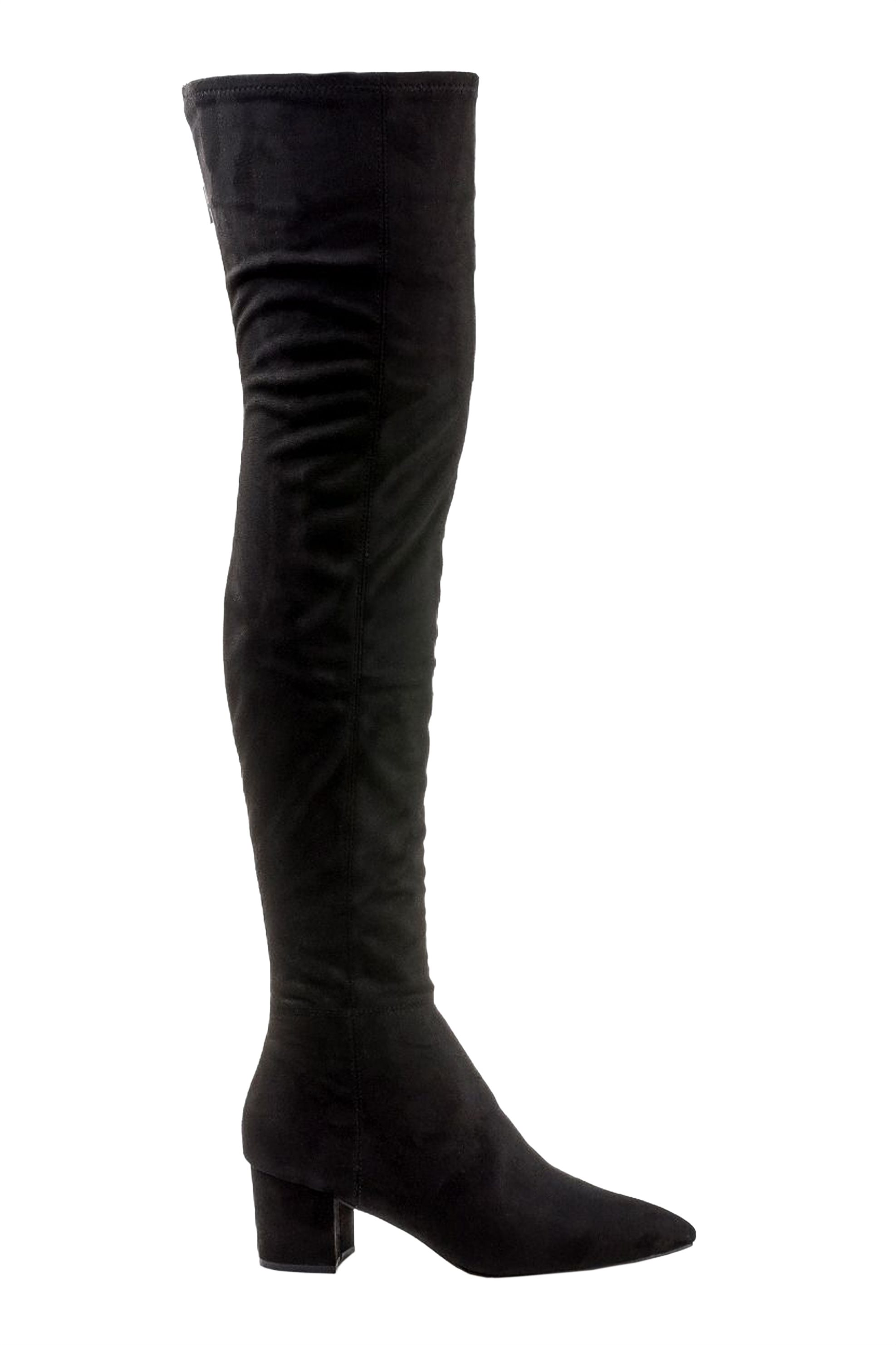 Steve Madden γυναικεία μποτά over the knee BOLTED - 218744-BOLTED - Μαύρο γυναικα   παπουτσια   μπότες   πάνω από το γόνατο