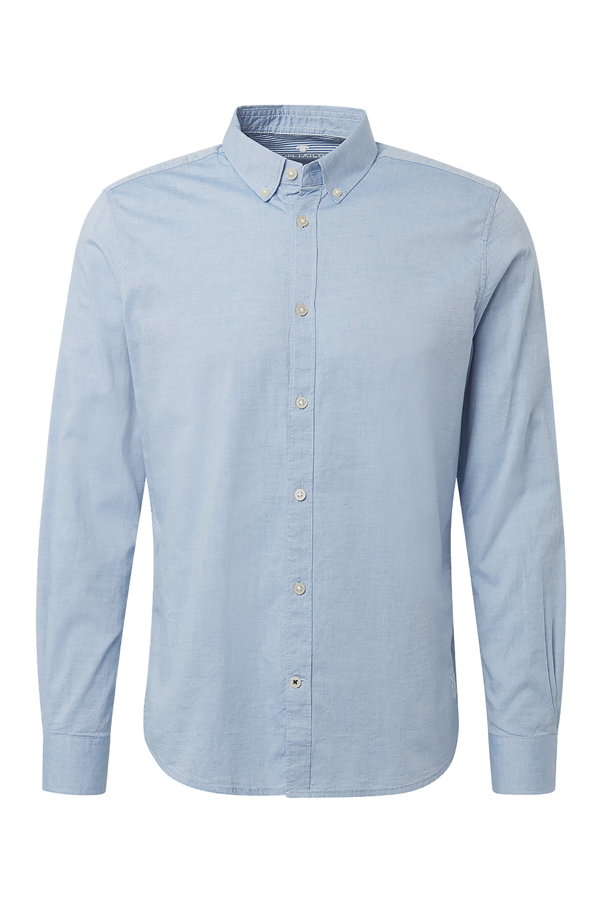 TOM TAILOR ανδρικό πουκάμισο Slim fit - 1008320 - Γαλάζιο ανδρασ   ρουχα   πουκάμισα   casual