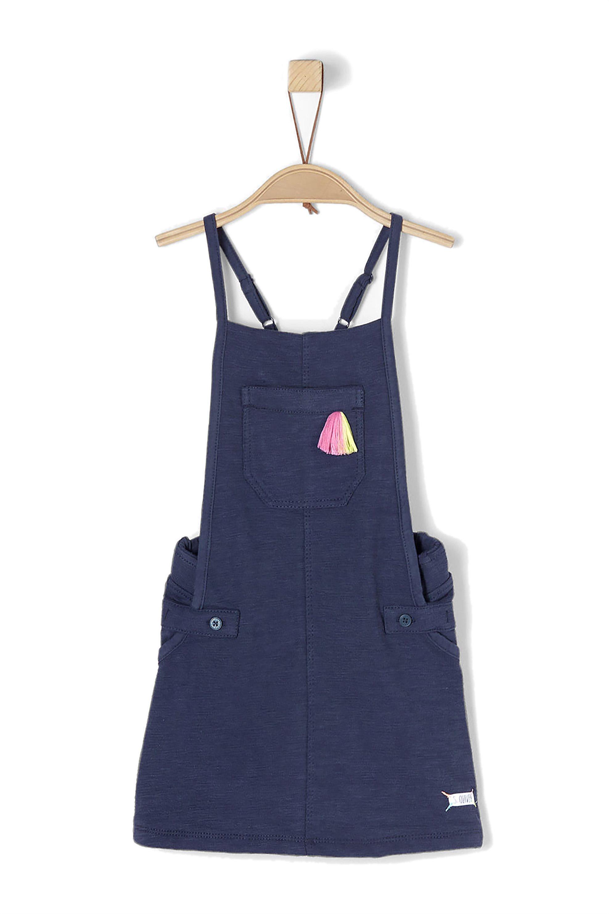 Παιδικό φόρεμα-σαλοπέτα s.Oliver - 53.802.78.8134 - Μπλε παιδι   βρεφικα κοριτσι   0 3 ετων   κοριτσι   4 14 ετων   φορέματα   ρούχα   φο