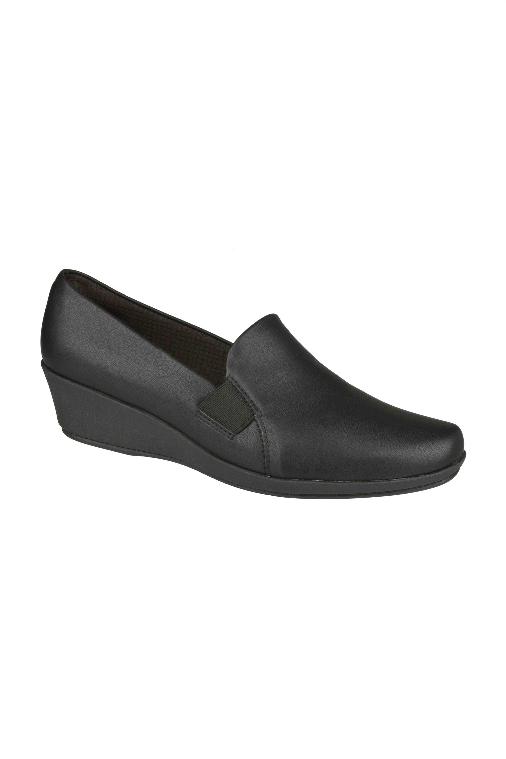 Piccadilly γυναικεία ανατομικά loafers με λάστιχο – 14313700000039 – Μαύρο