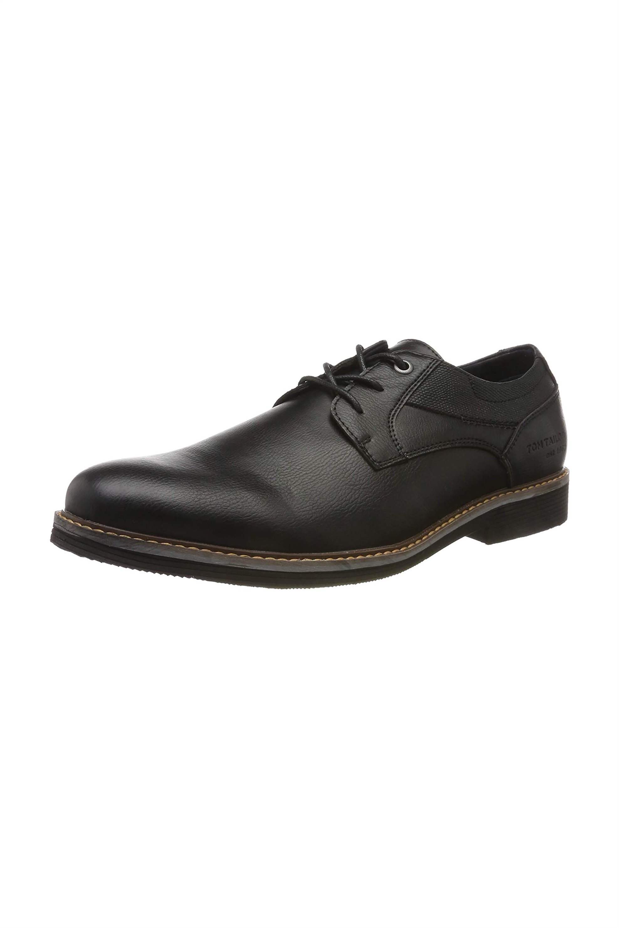 Tom Tailor ανδρικά παπούτσια oxford – 7981101 – Μαύρο