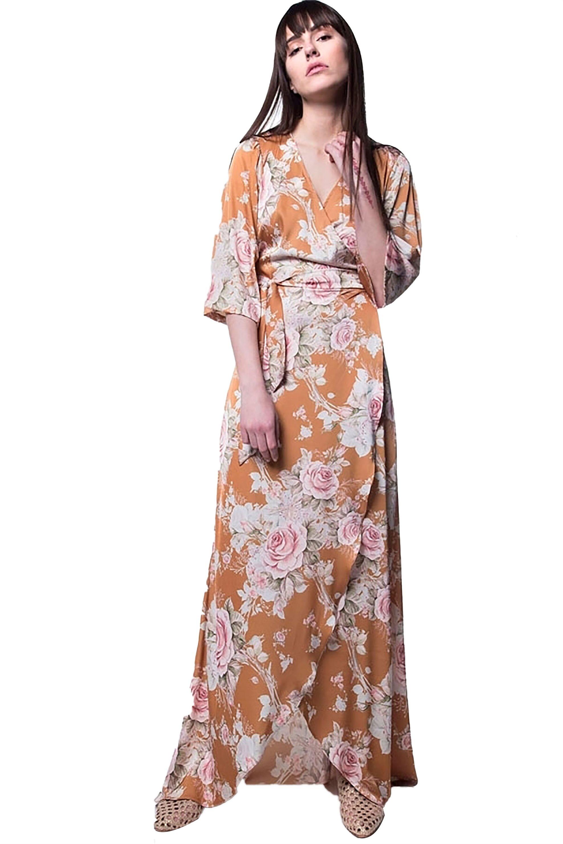 e29bef1f20bb Γυναικεία   Ρούχα   Φορέματα   Μακριά   Floral maxi φόρεμα από ...