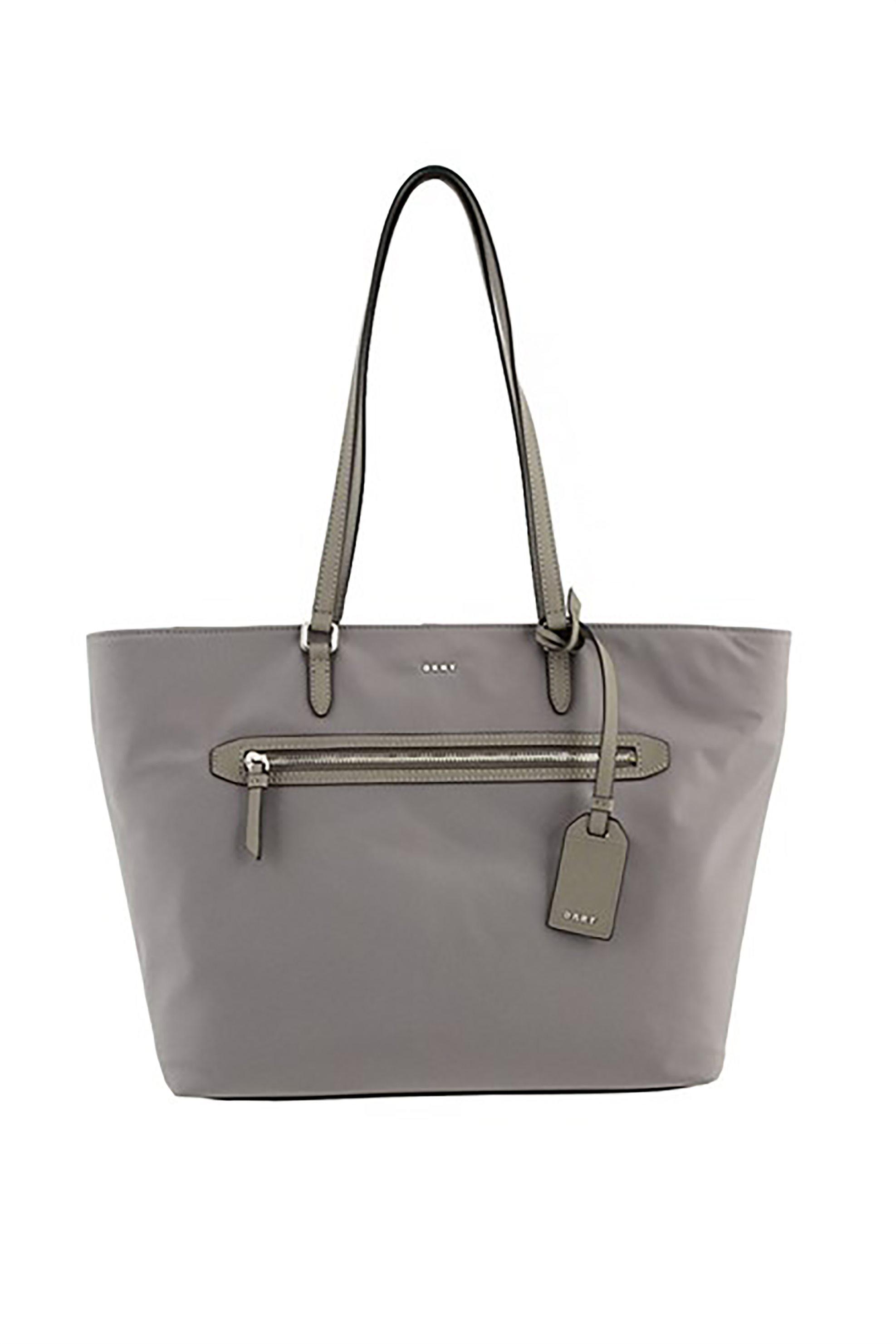2f5352f544 DKNY γυναικεία τσάντα ώμου Casey - R81AE591 - Γκρι