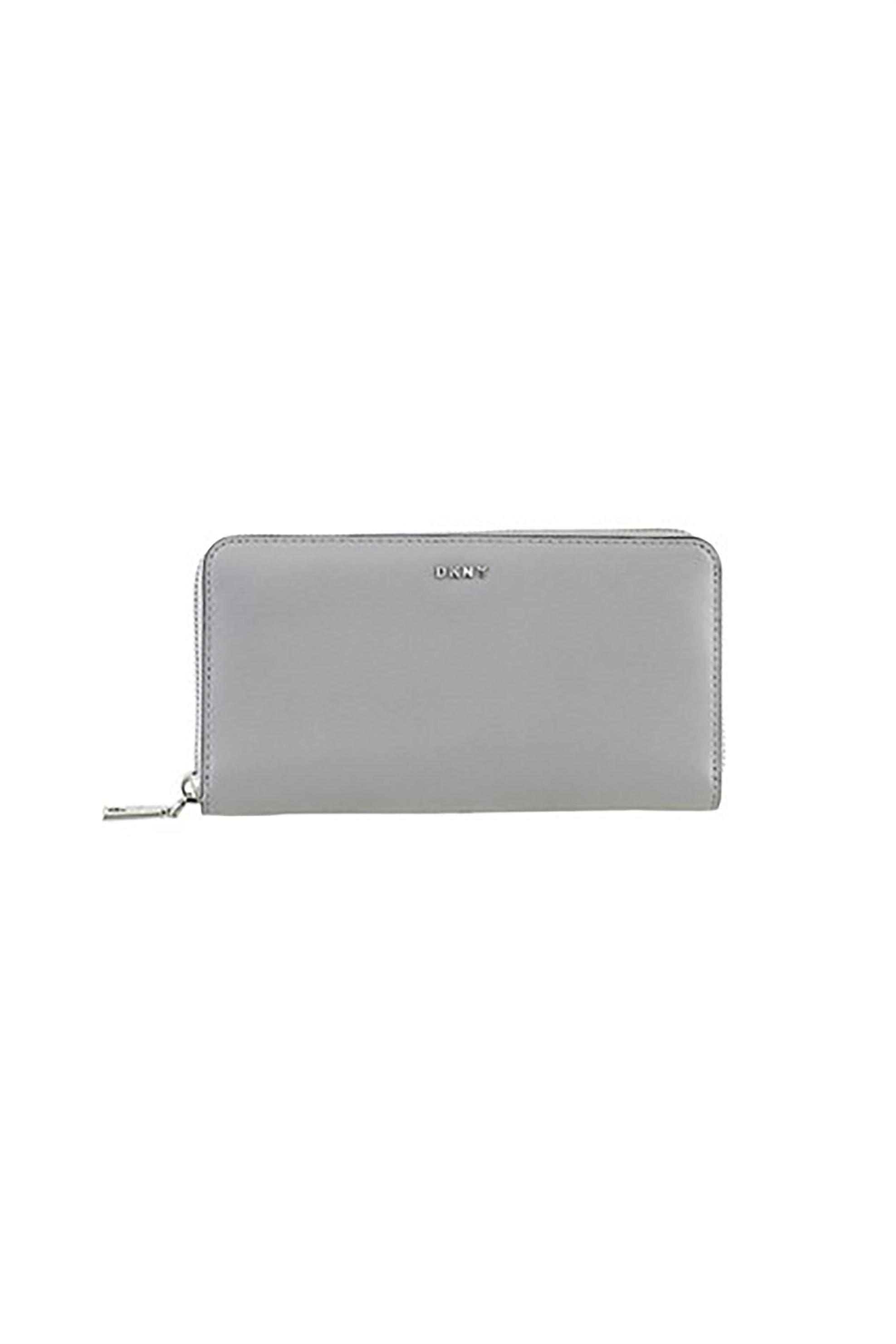 222966a460 Notos DKNY γυναικείο πορτοφόλι με εξωτερική τσέπη Βryant - R8313658 - Γκρι