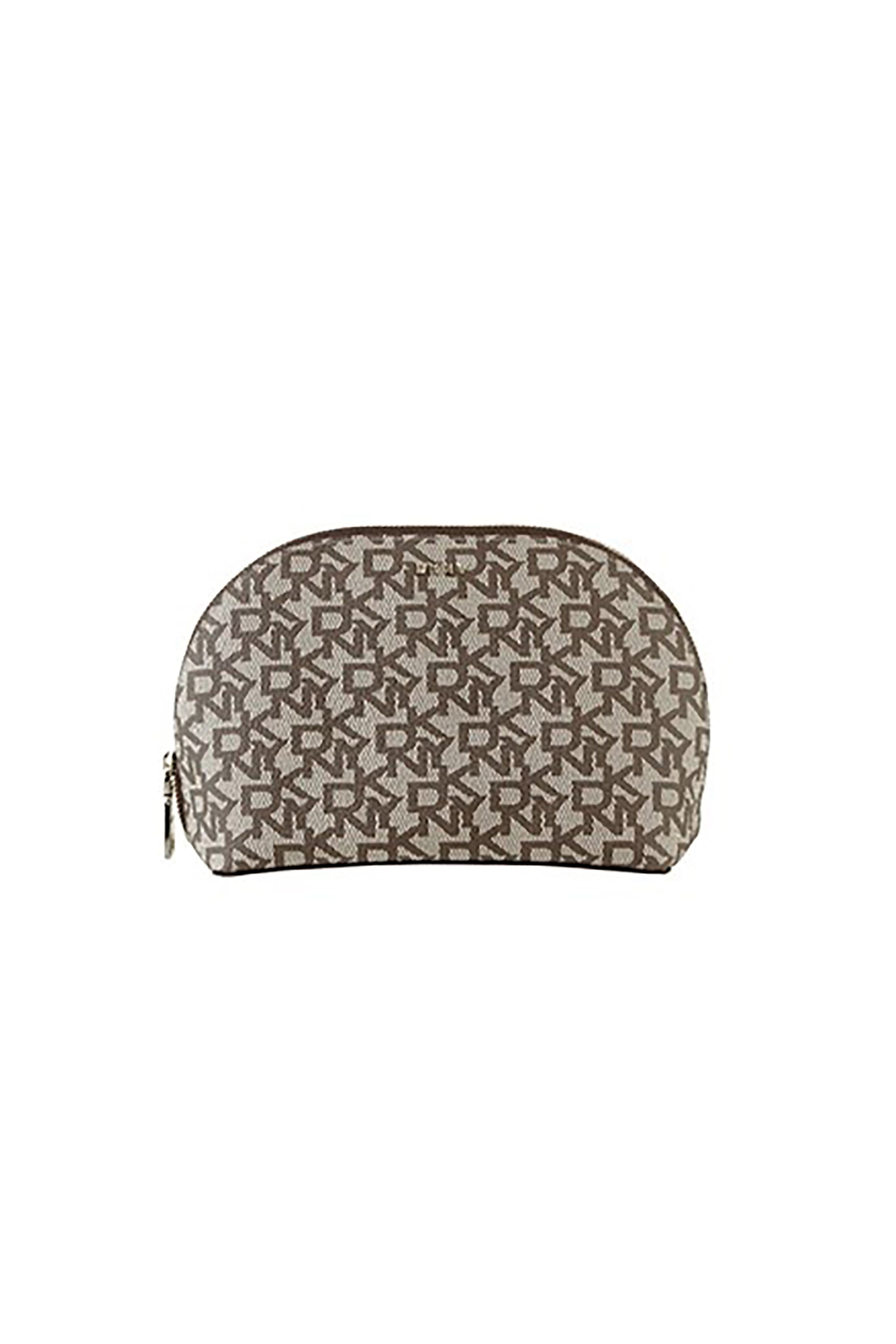 1426666819 DKNY γυναικείο πορτοφόλι με λογότυπο Bryant - R84RJ986 - Καφέ