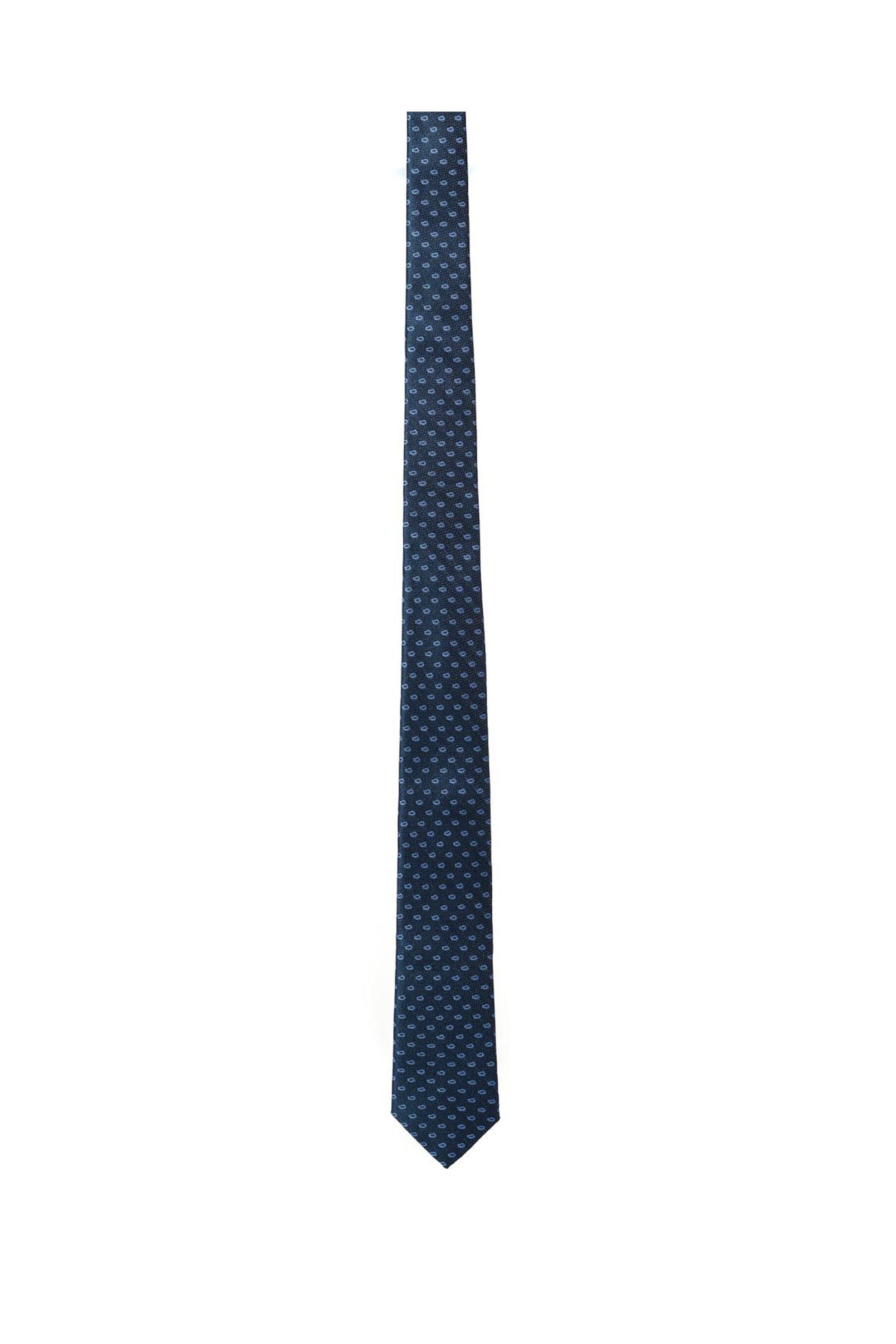 Vardas ανδρική μεταξωτή γραβάτα ''Retro Style Twill'' - 2052005360207 - Μπλε