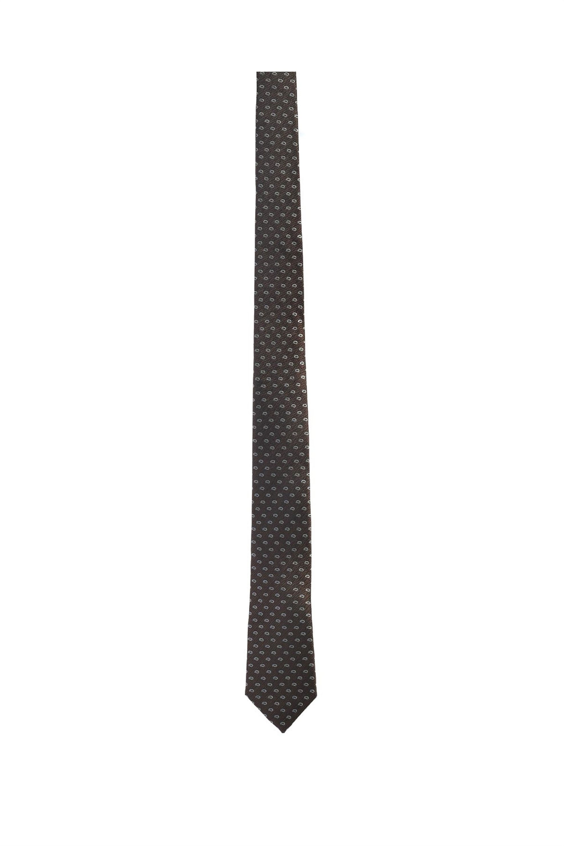 Vardas ανδρική μεταξωτή γραβάτα ''Retro Style Twill'' - 2052005361907 - Καφέ