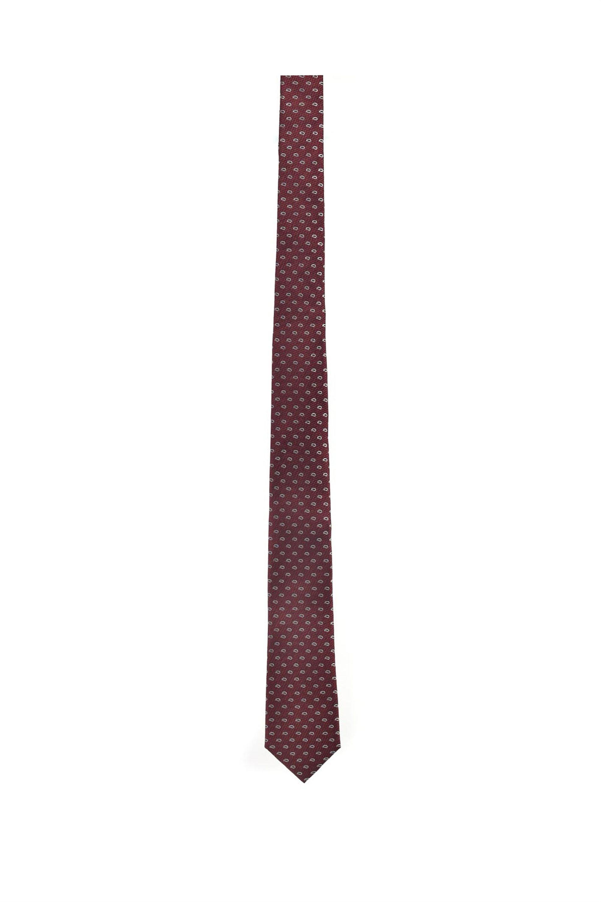 Vardas ανδρική μεταξωτή γραβάτα ''Retro Style Twill'' - 2052005364207 - Μπορντό