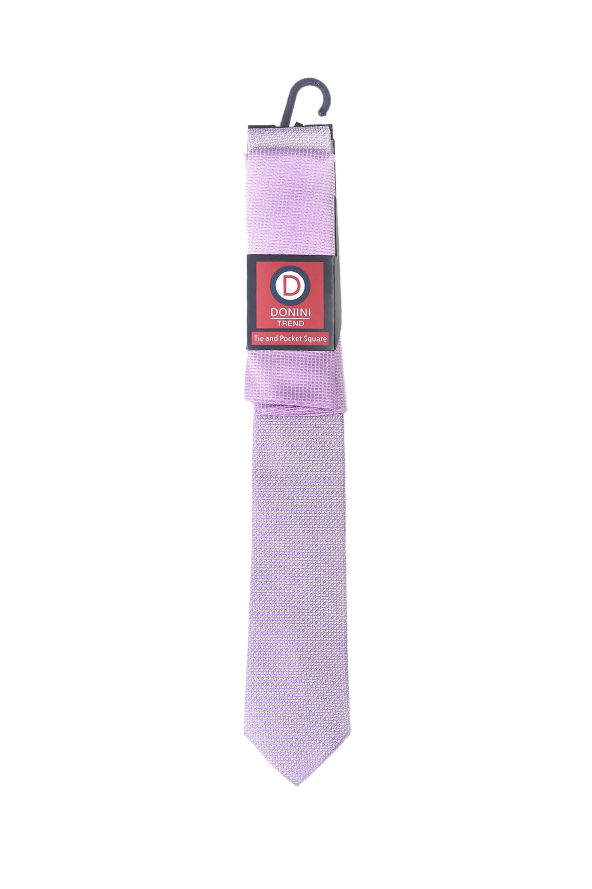 Vardas ανδρικό σετ γραβάτα και μαντηλάκι - 2062000395001 - Λιλά
