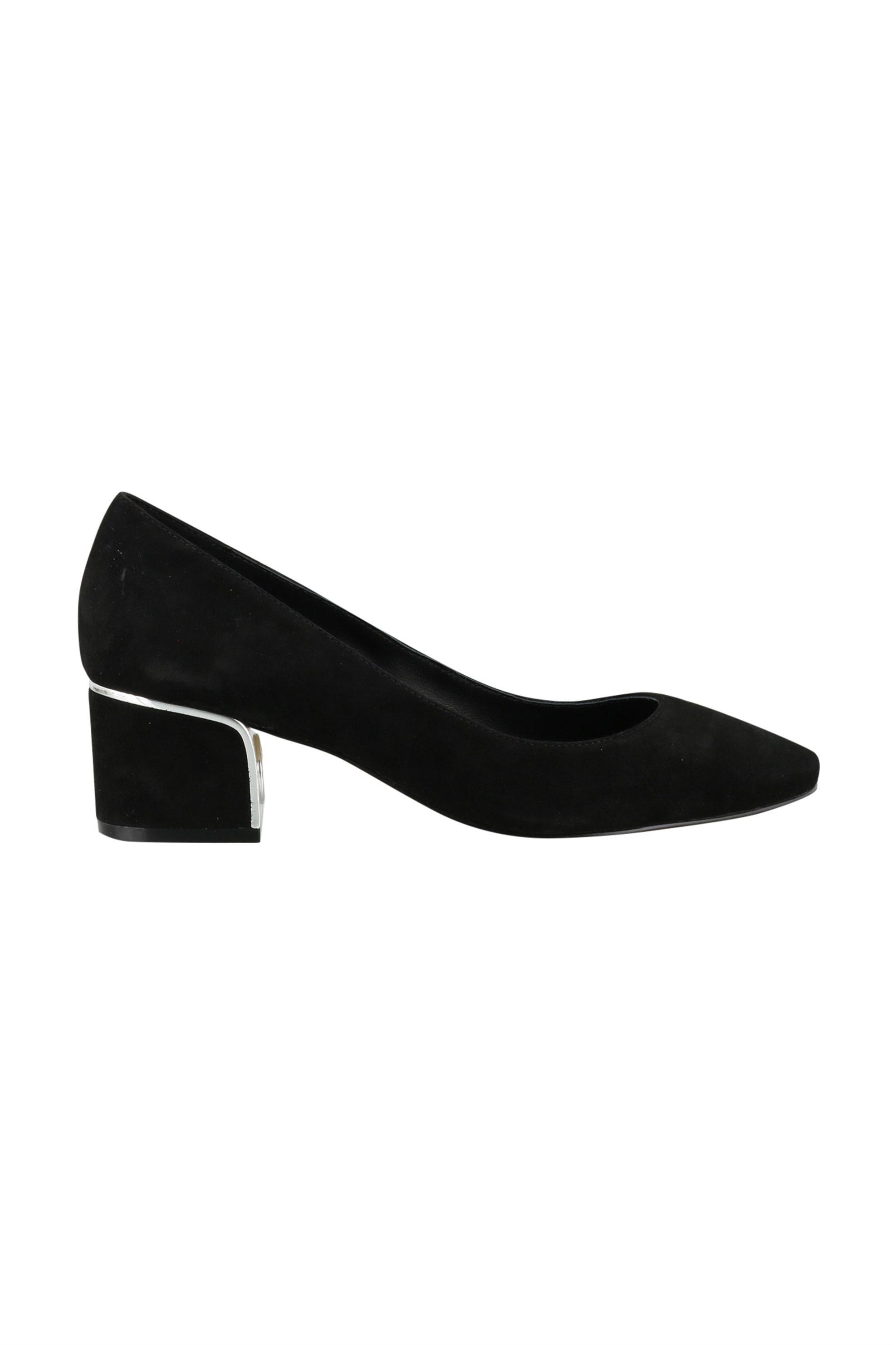 """Μichael Kors γυναικείες γόβες μονόχρωμες με χοντρό τακούνι """"Lana"""" – 40T0LAMP1S – Μαύρο"""