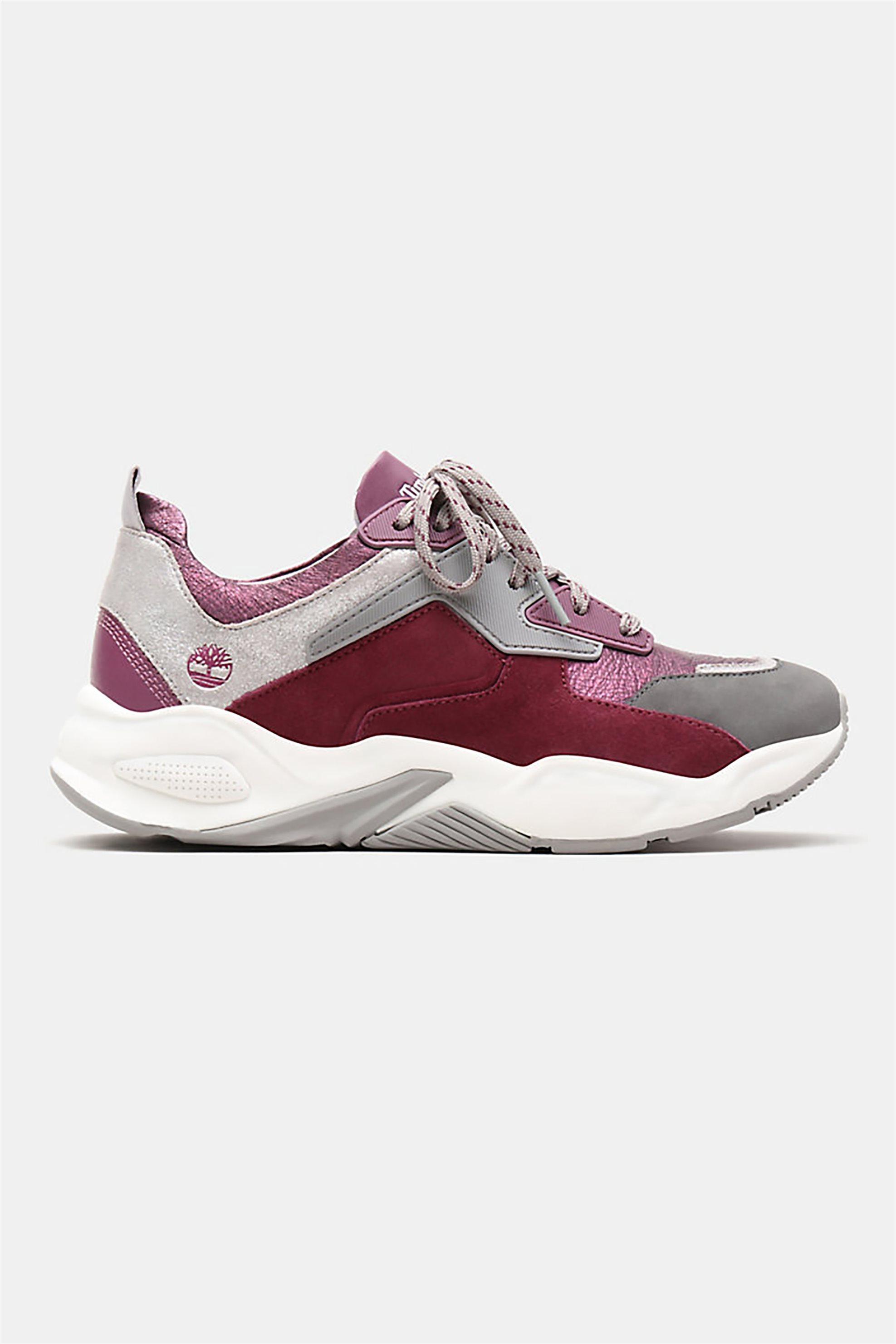 Timberland γυναικεία sneakers με κορδόνια Delphiville – TB0A23EMX341 – Μοβ