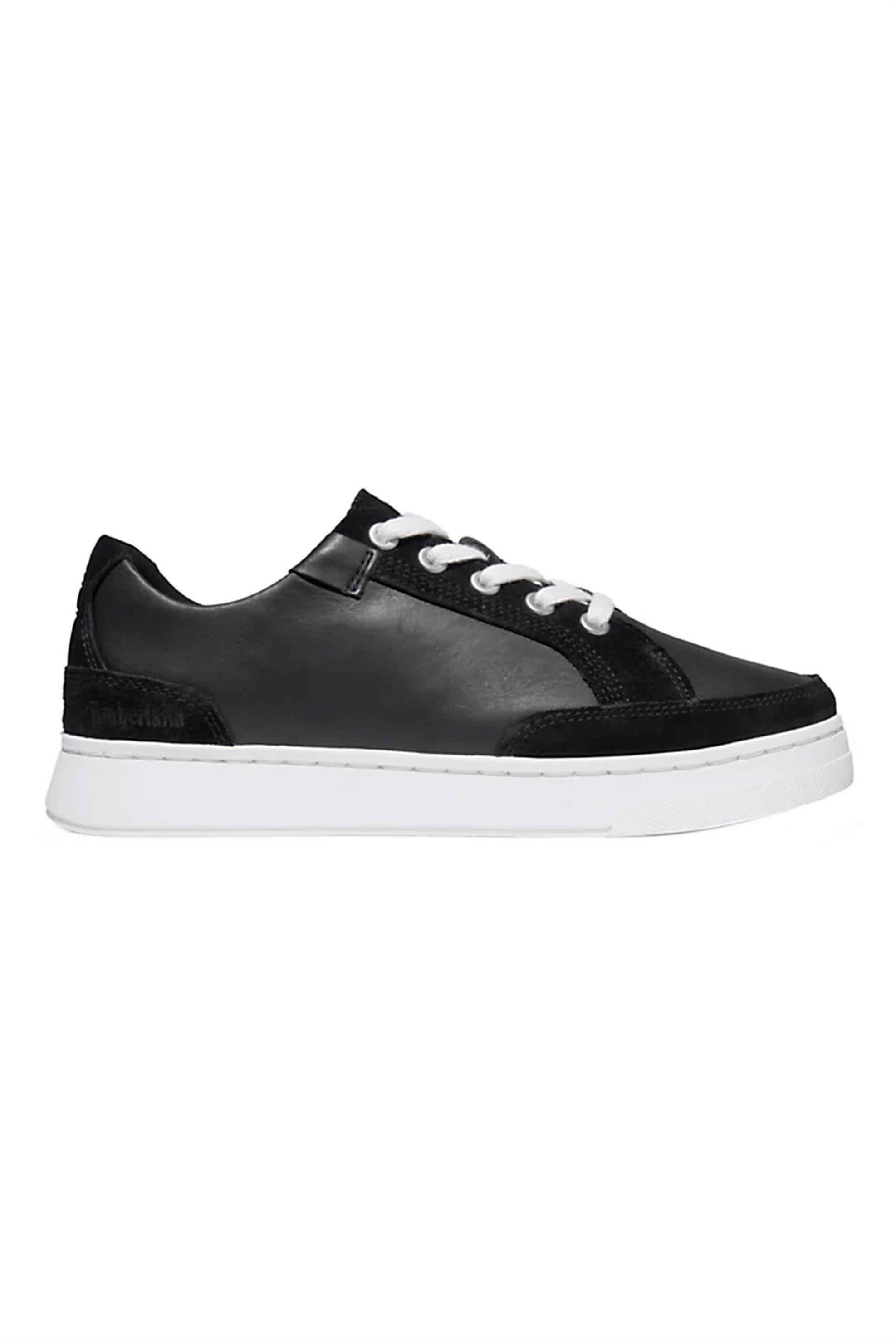 "Timberland γυναικεία sneakers με suede λεπτομέρειες ""Αtlanta Green"" – TB0A23QC0151 – Μαύρο"
