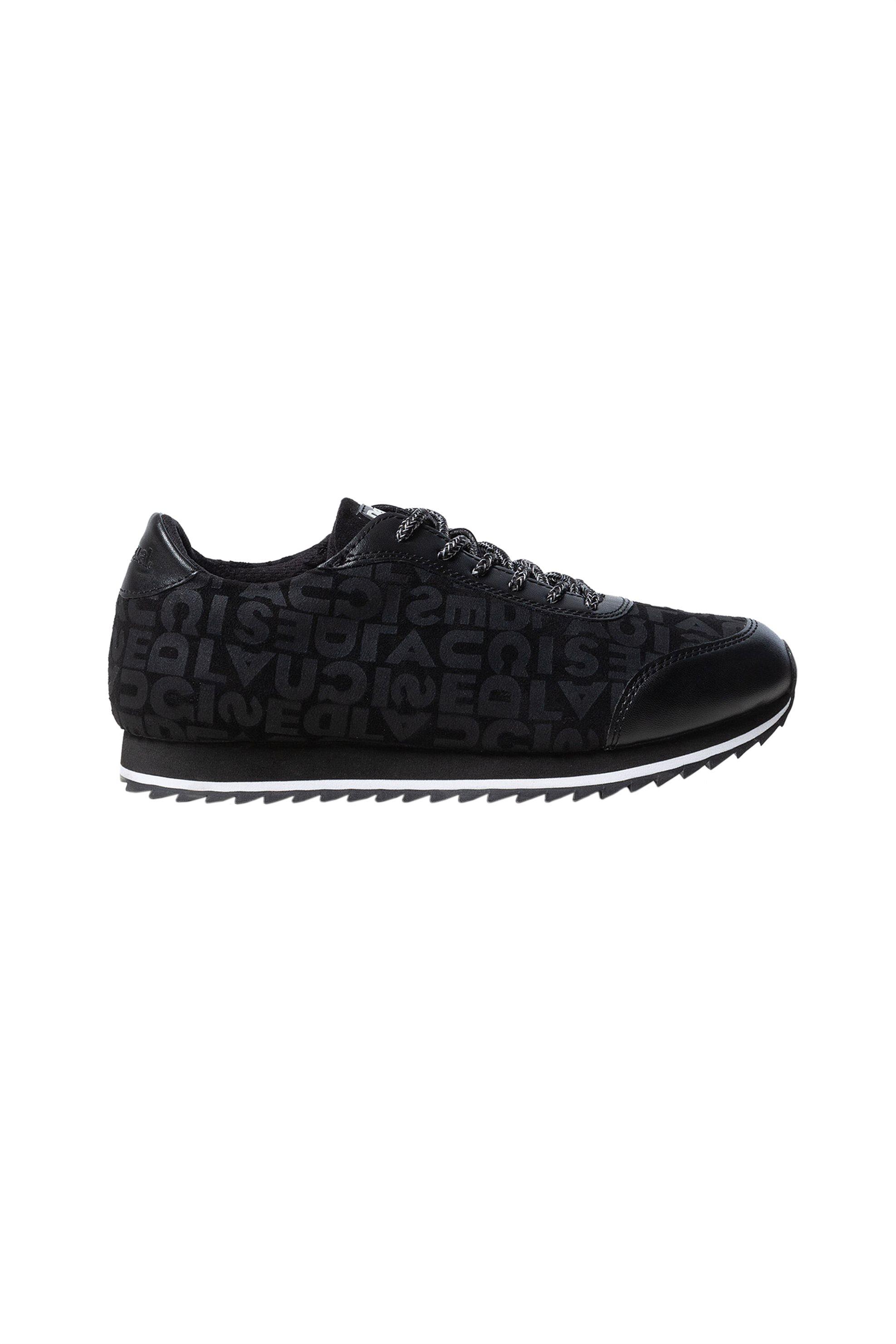 Desigual γυναικεία sneakers με logo letter print